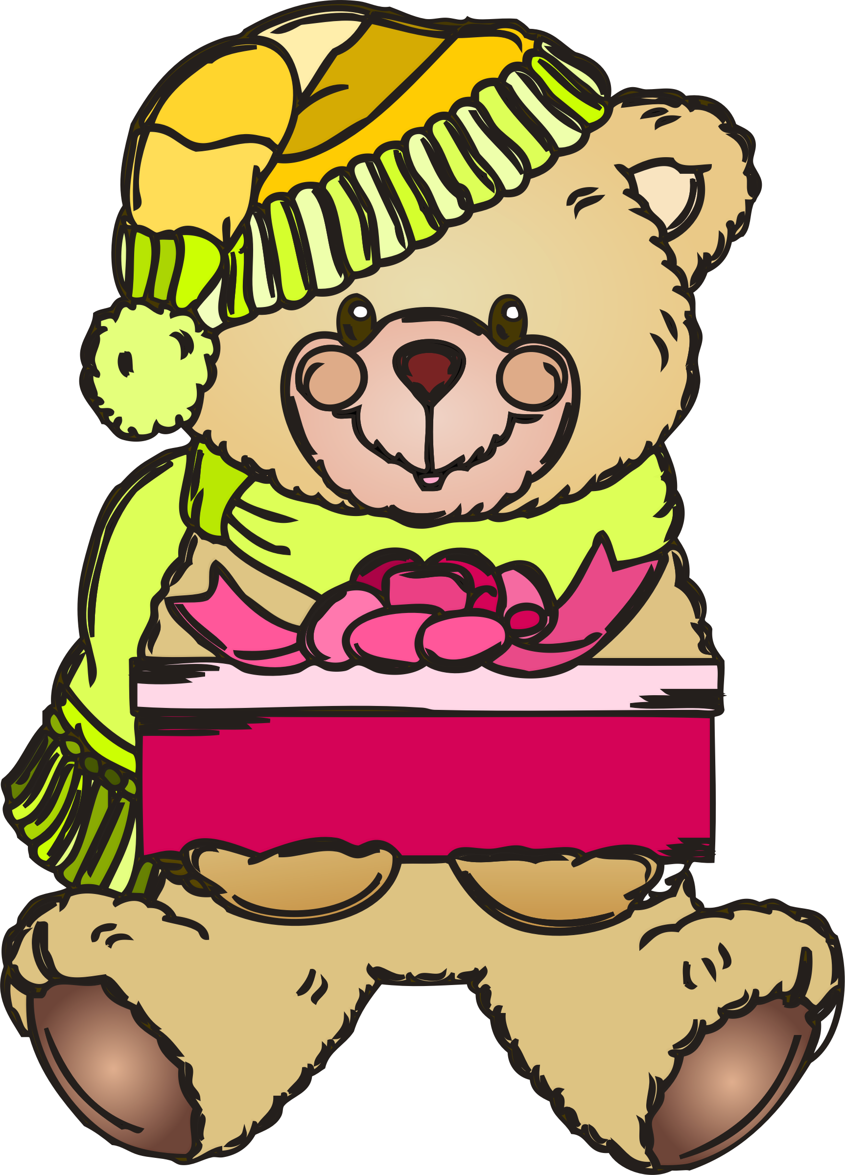 holiday bear by OlKu