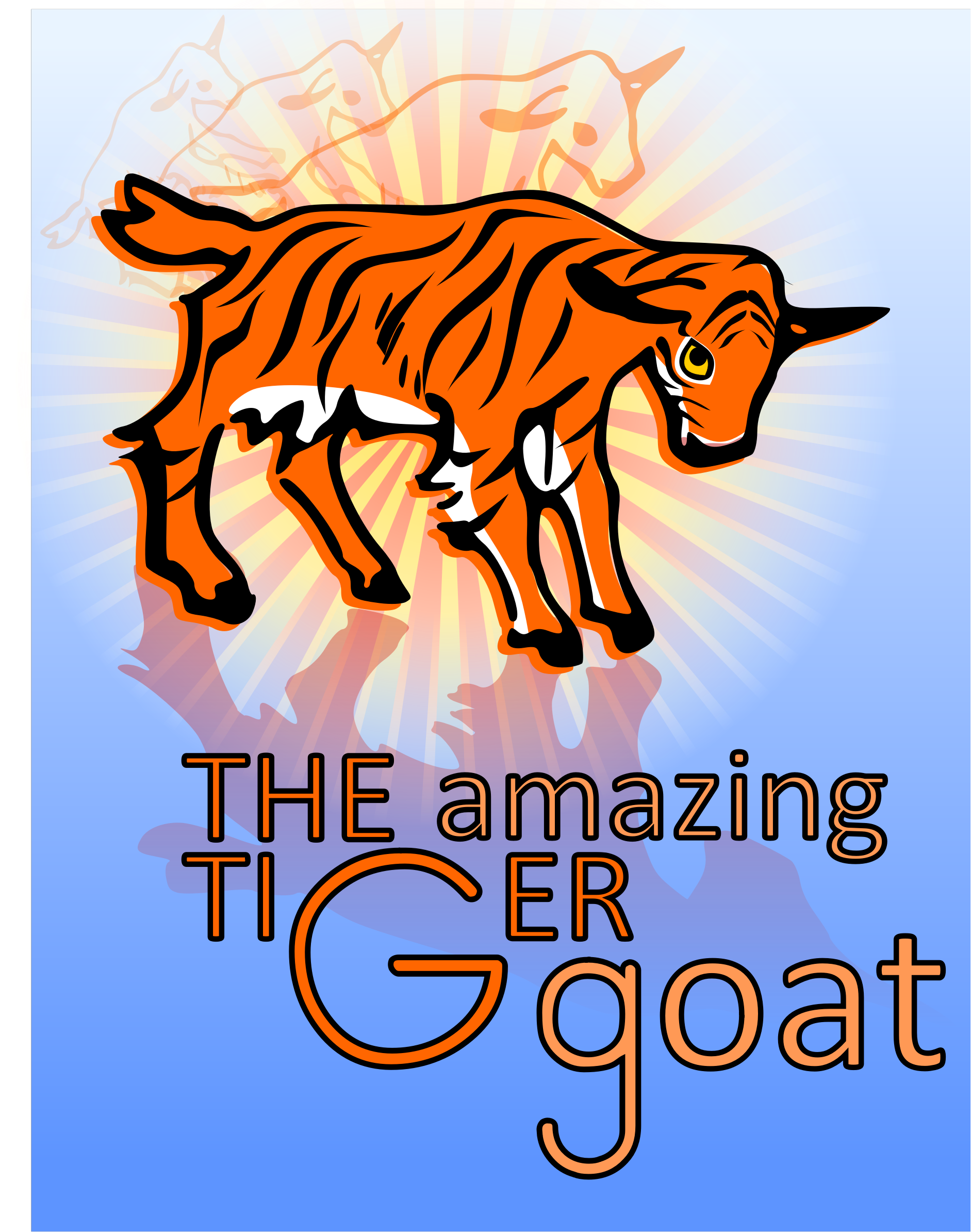 The Amazing Tiger Goat by czntnr