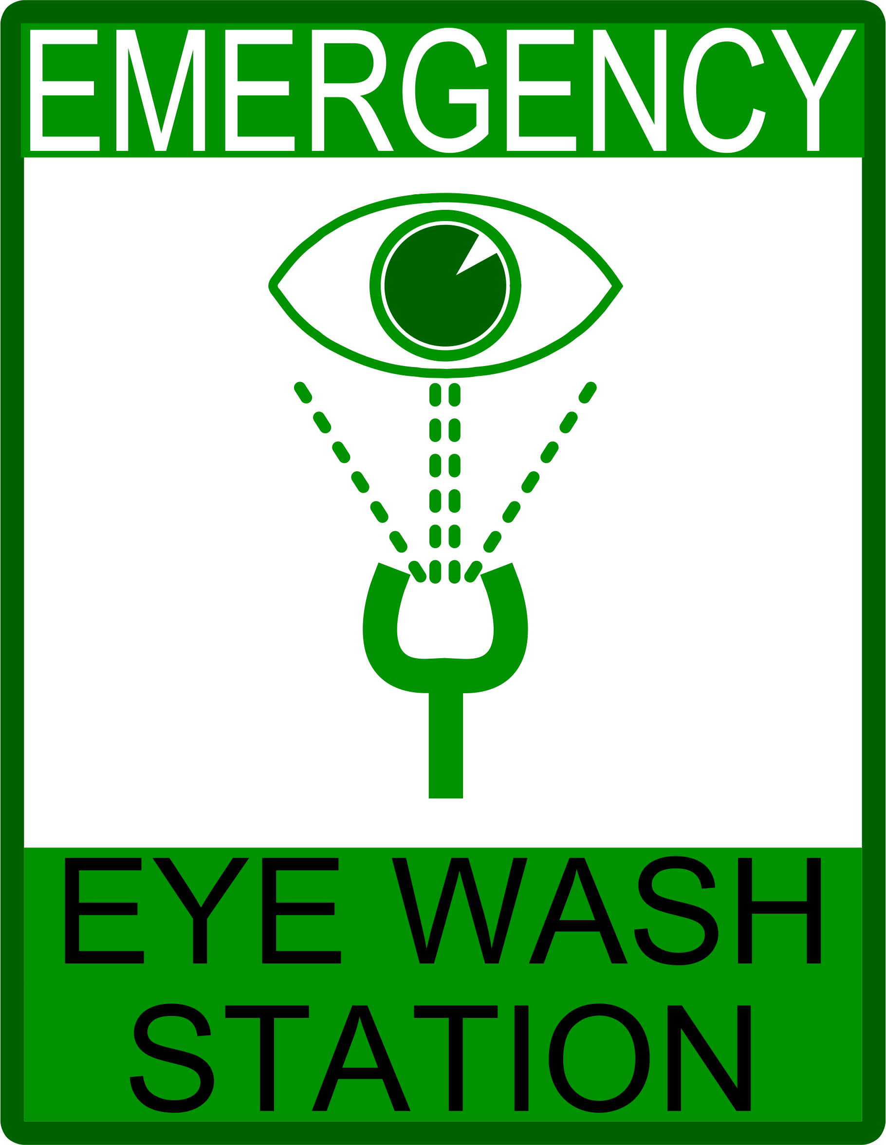 Emergency Eye Wash Station by Arvin61r58