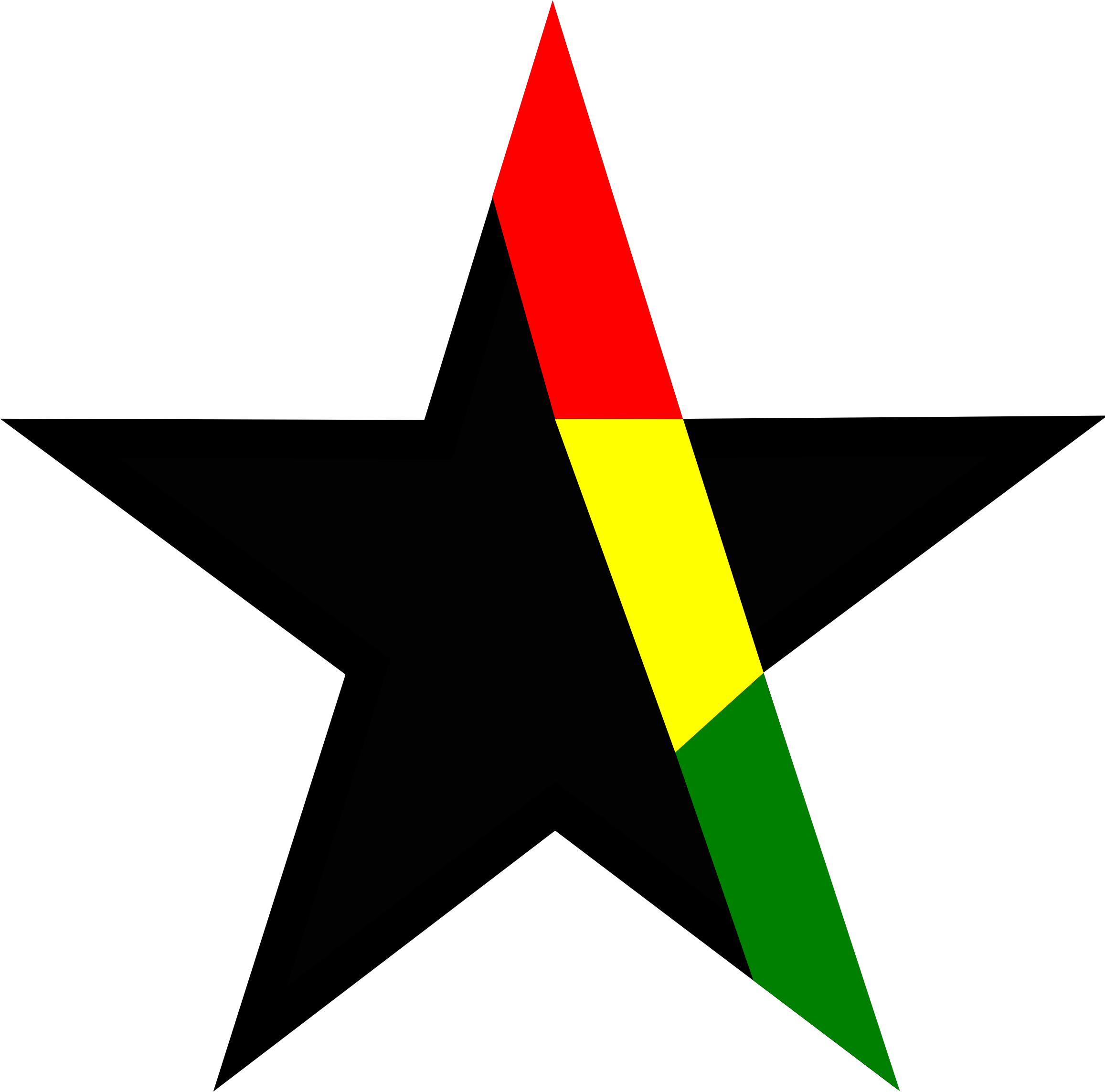 Black star Ghana by openclipartr