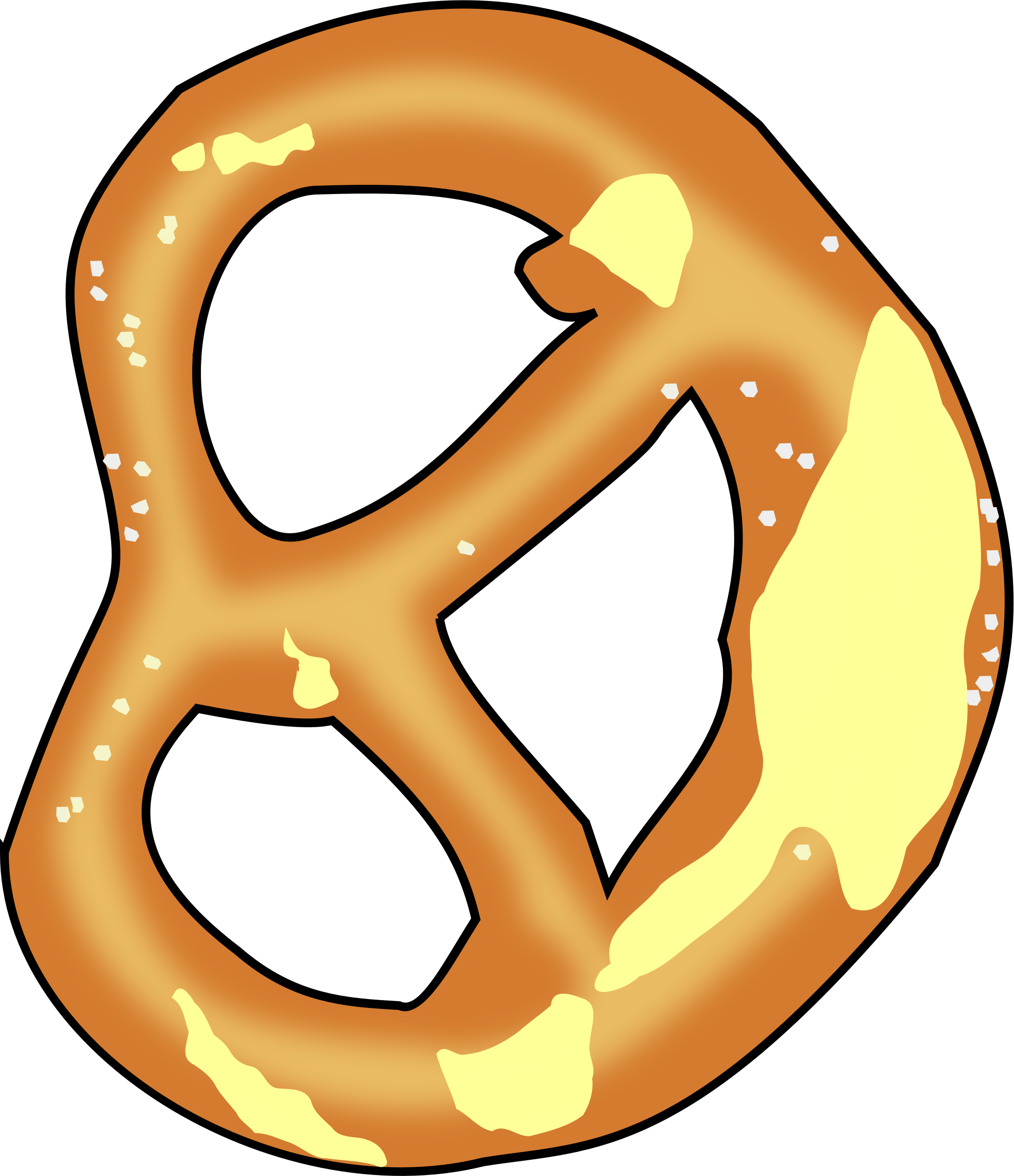 Bavarian pretzel by arking