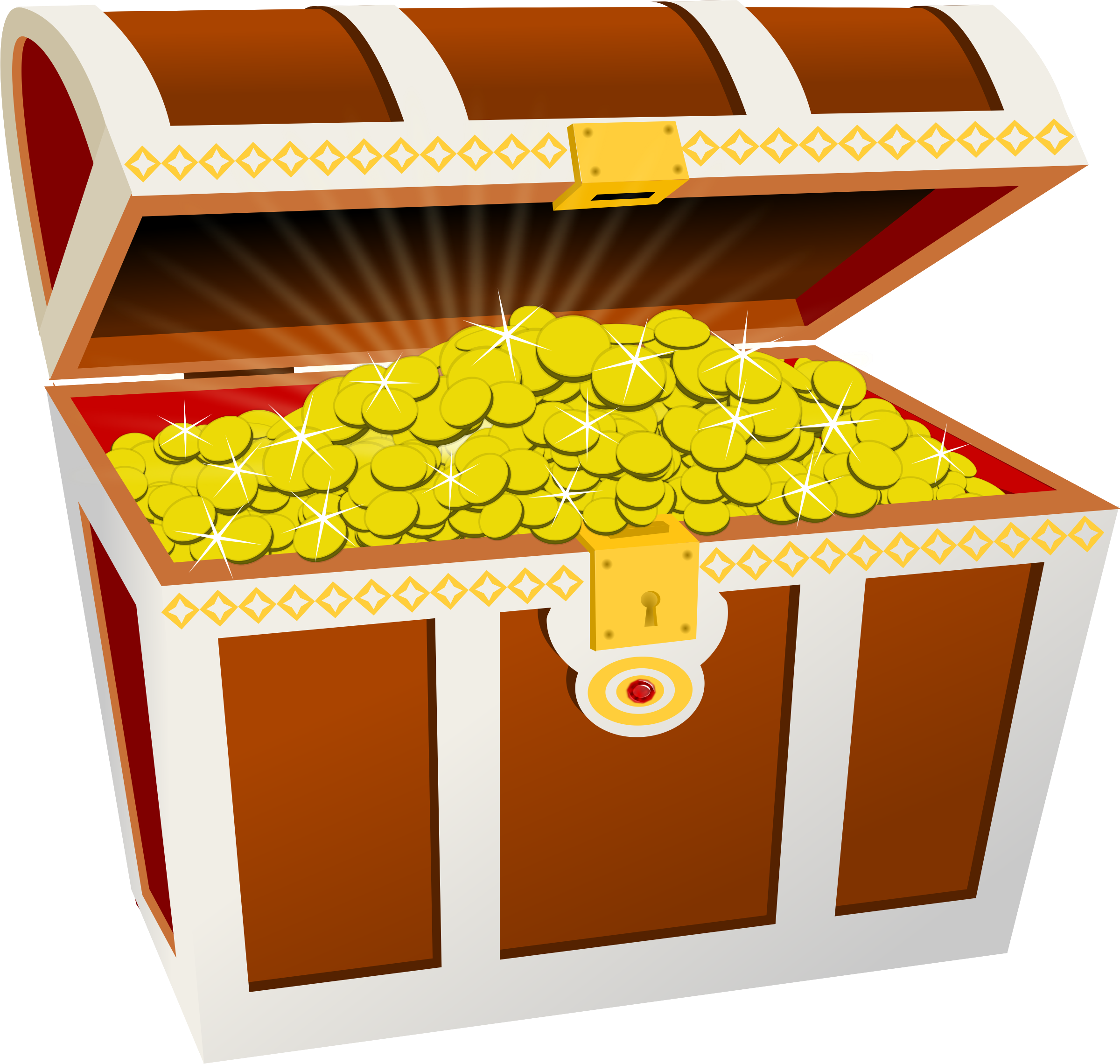 Treasure chest by Moini