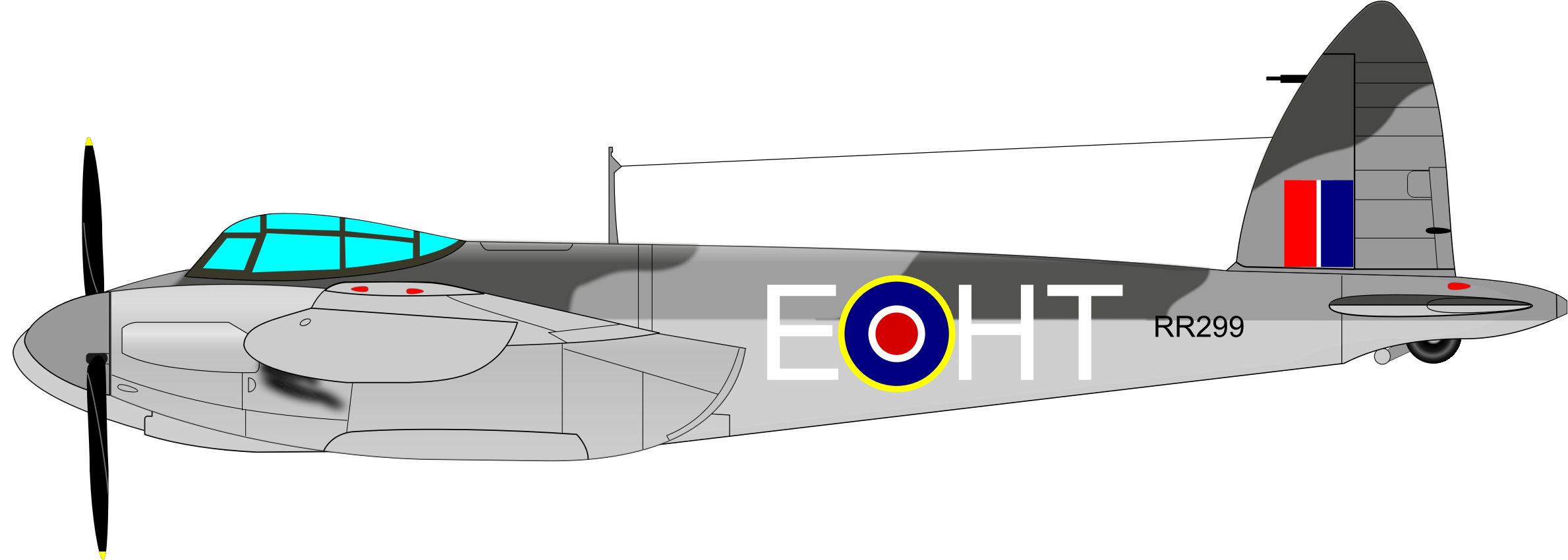 DE HAVILLAND MOSQUITO by charner1963