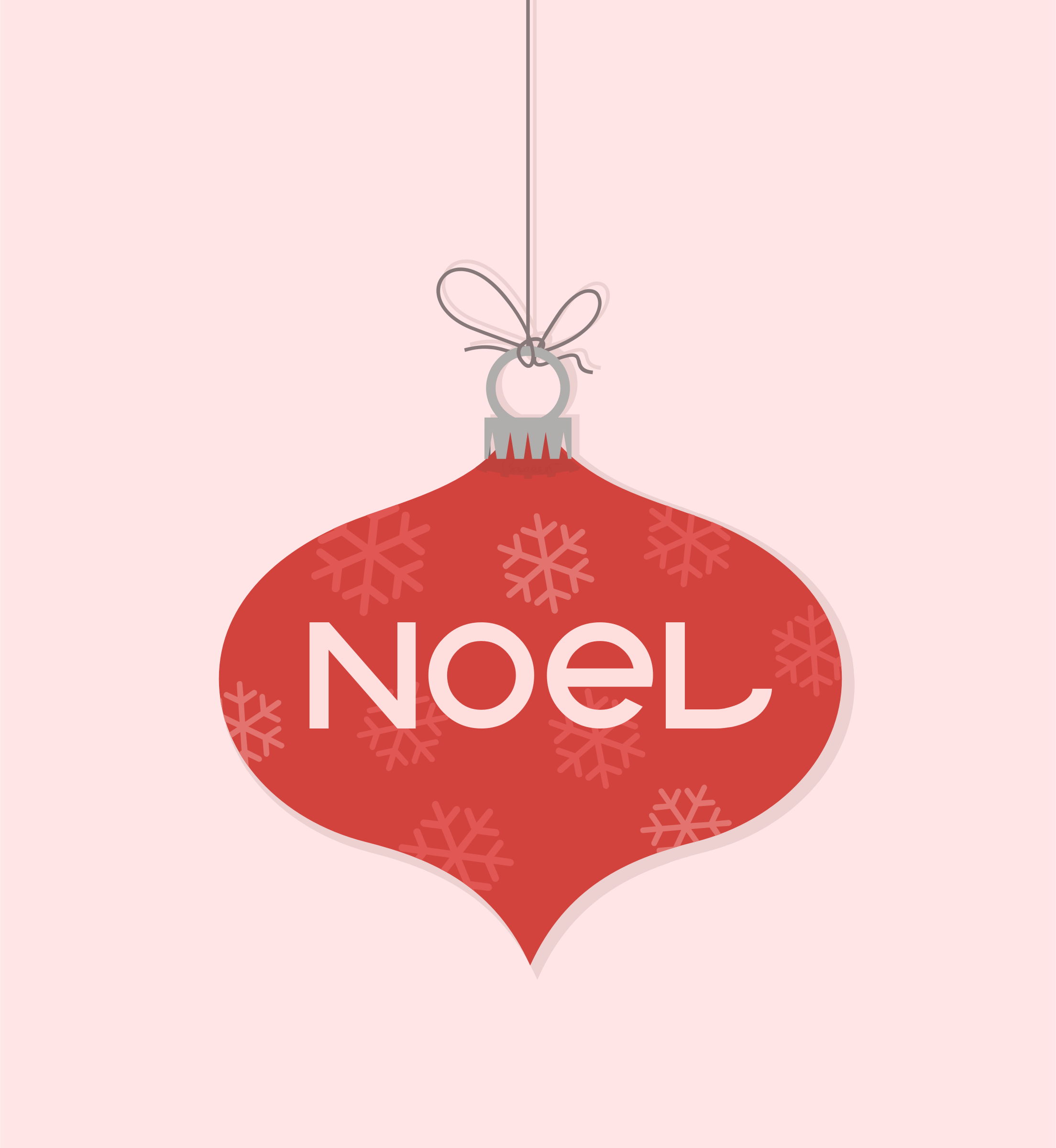 Clipart - Noel Christmas Ornament