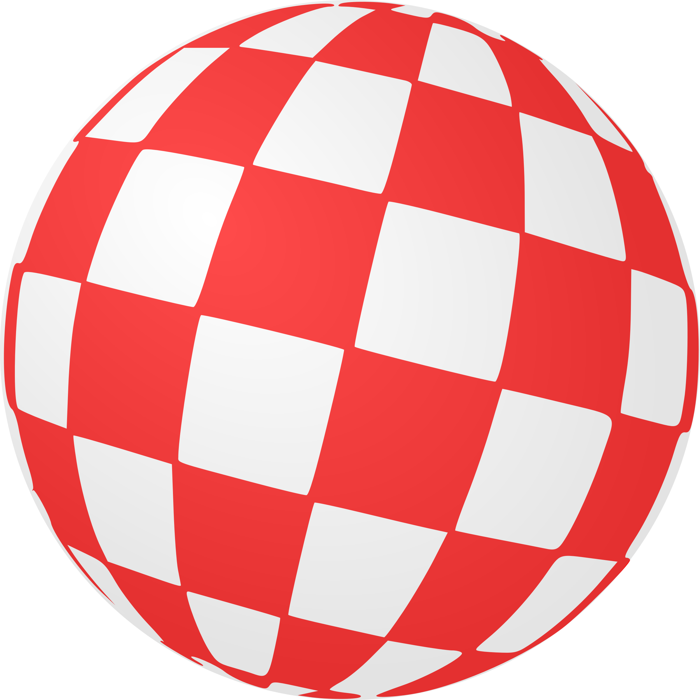 Checkered Ball by Arvin61r58
