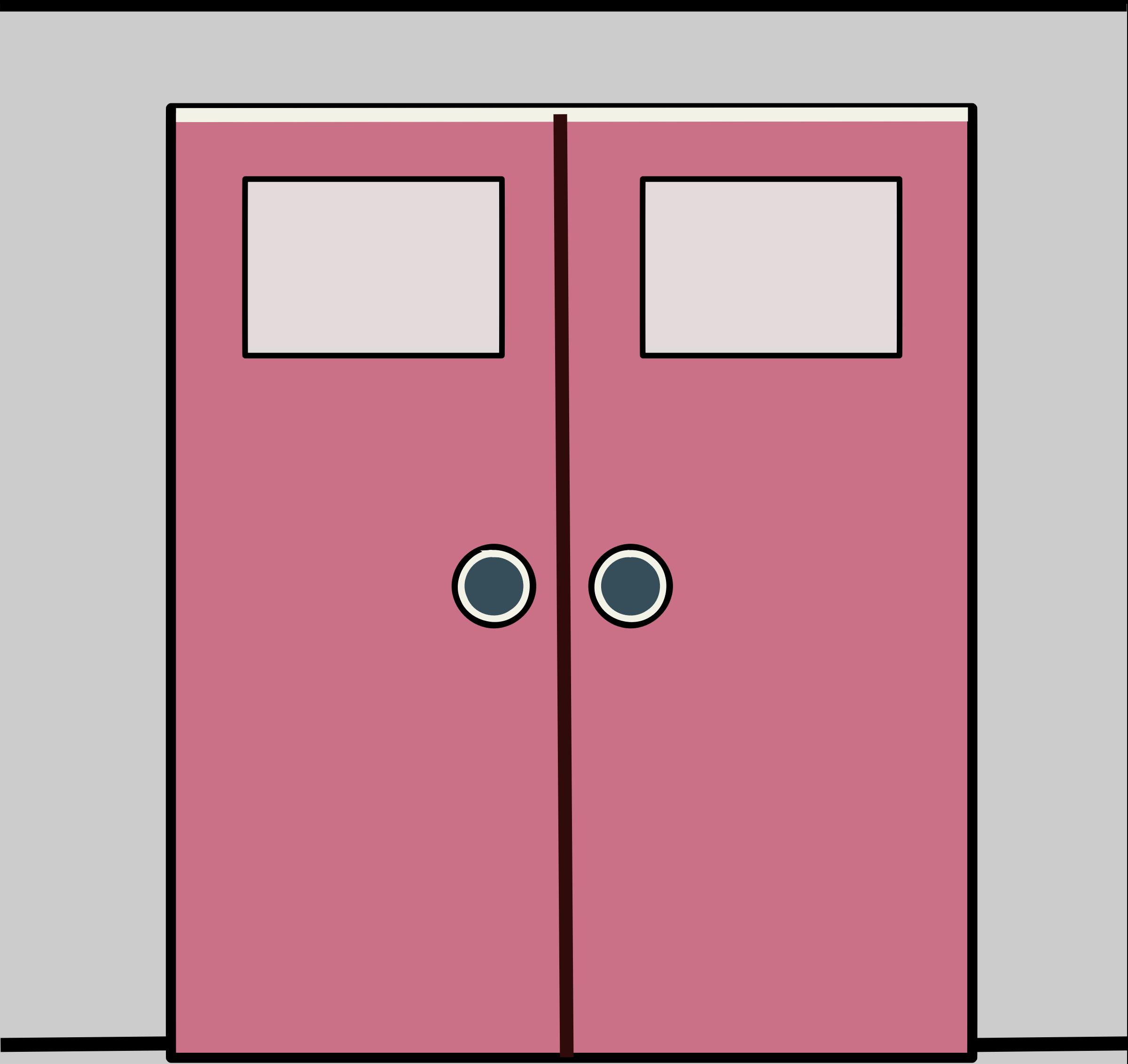 Double door clipart - Double Door Stock Vectors Clipart And Illustrations