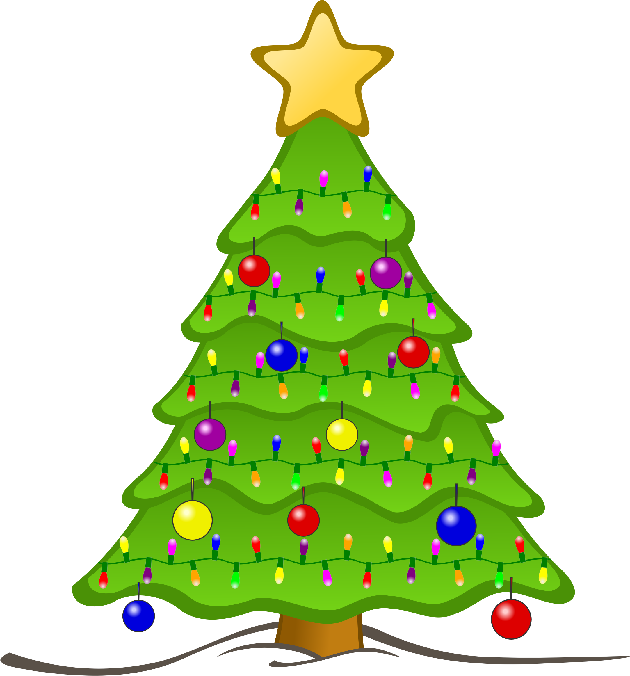 Good Animated Christmas Tree