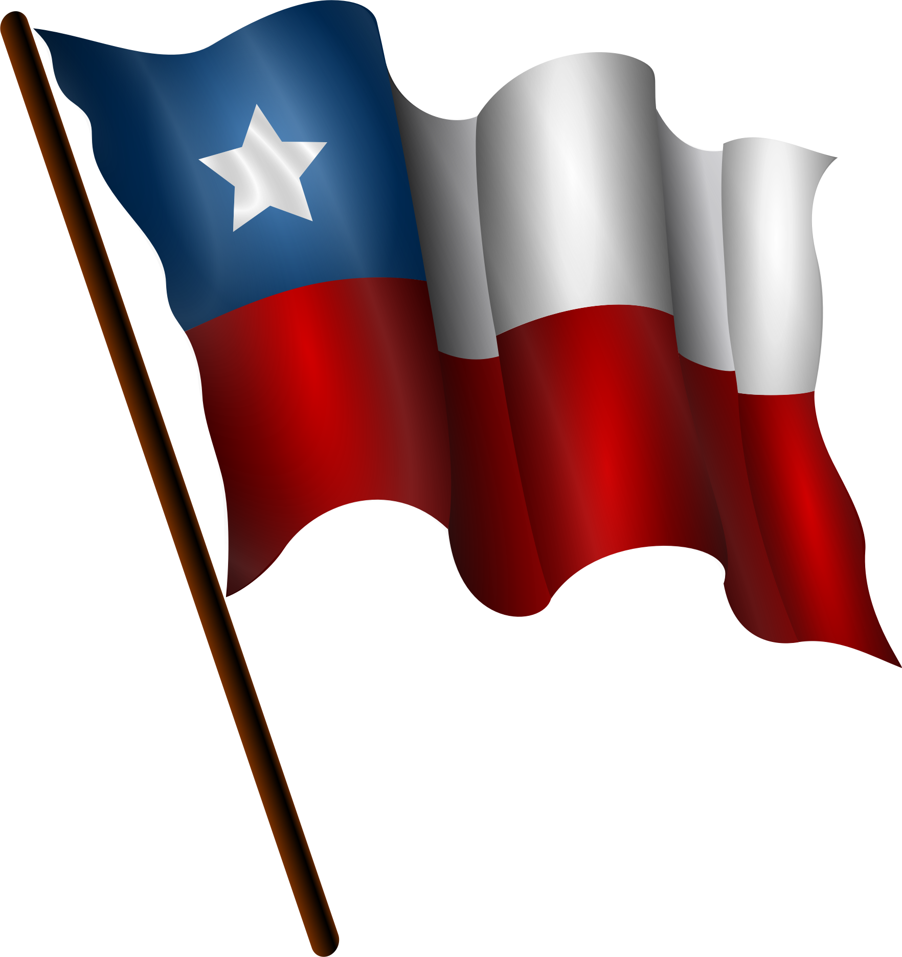 Chilean Flag 7 by Merlin2525