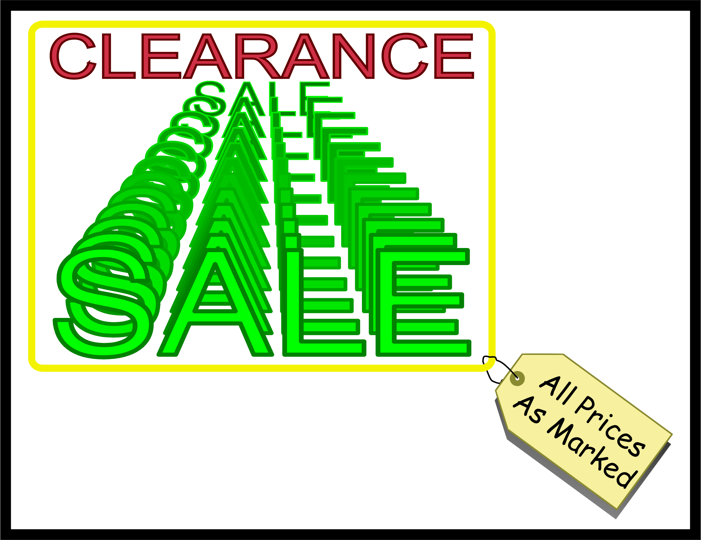 Clearance Sale by Arvin61r58