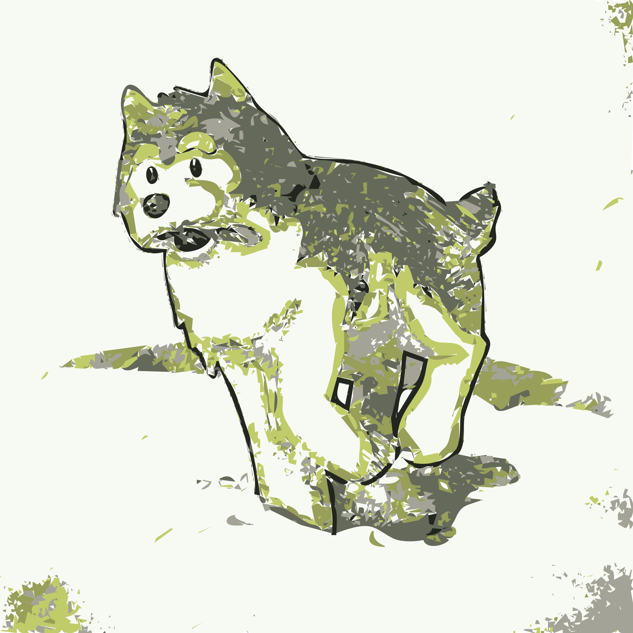 Husky Colored Pencil by jonphillips