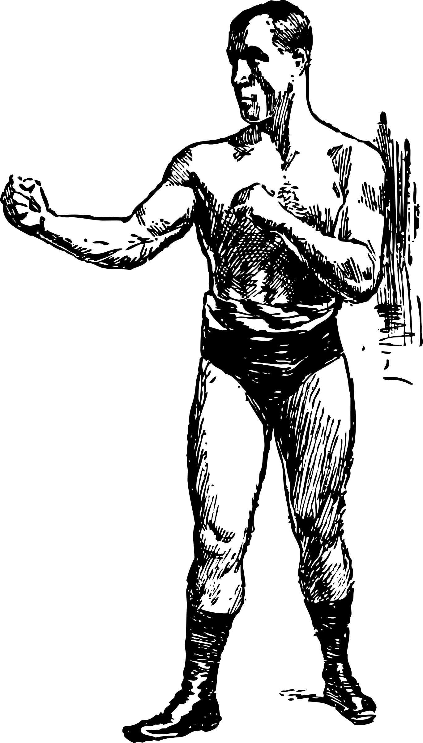Tom Sharkey Pugilist by johnny_automatic