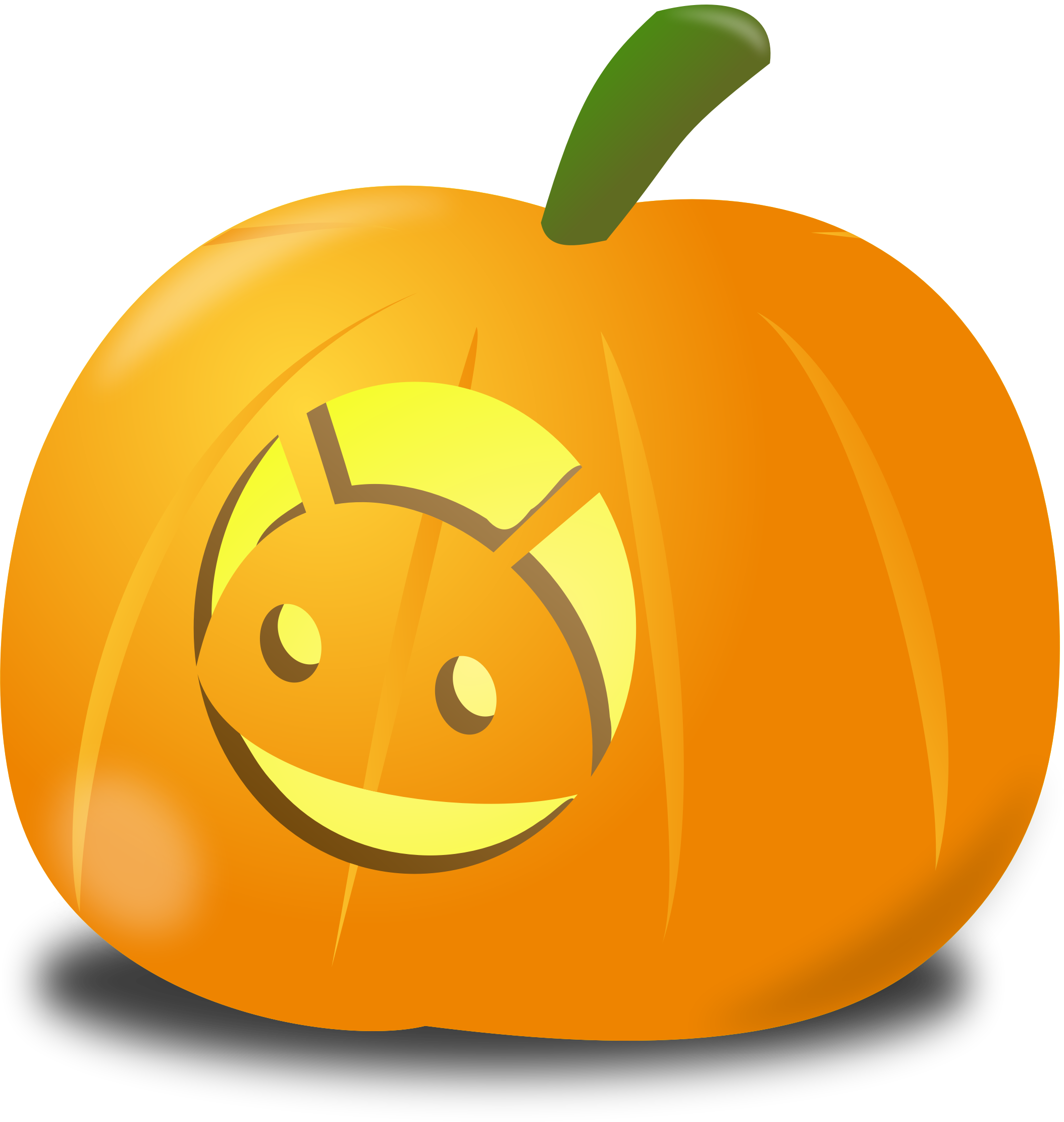 Android pumpkin by nicubunu