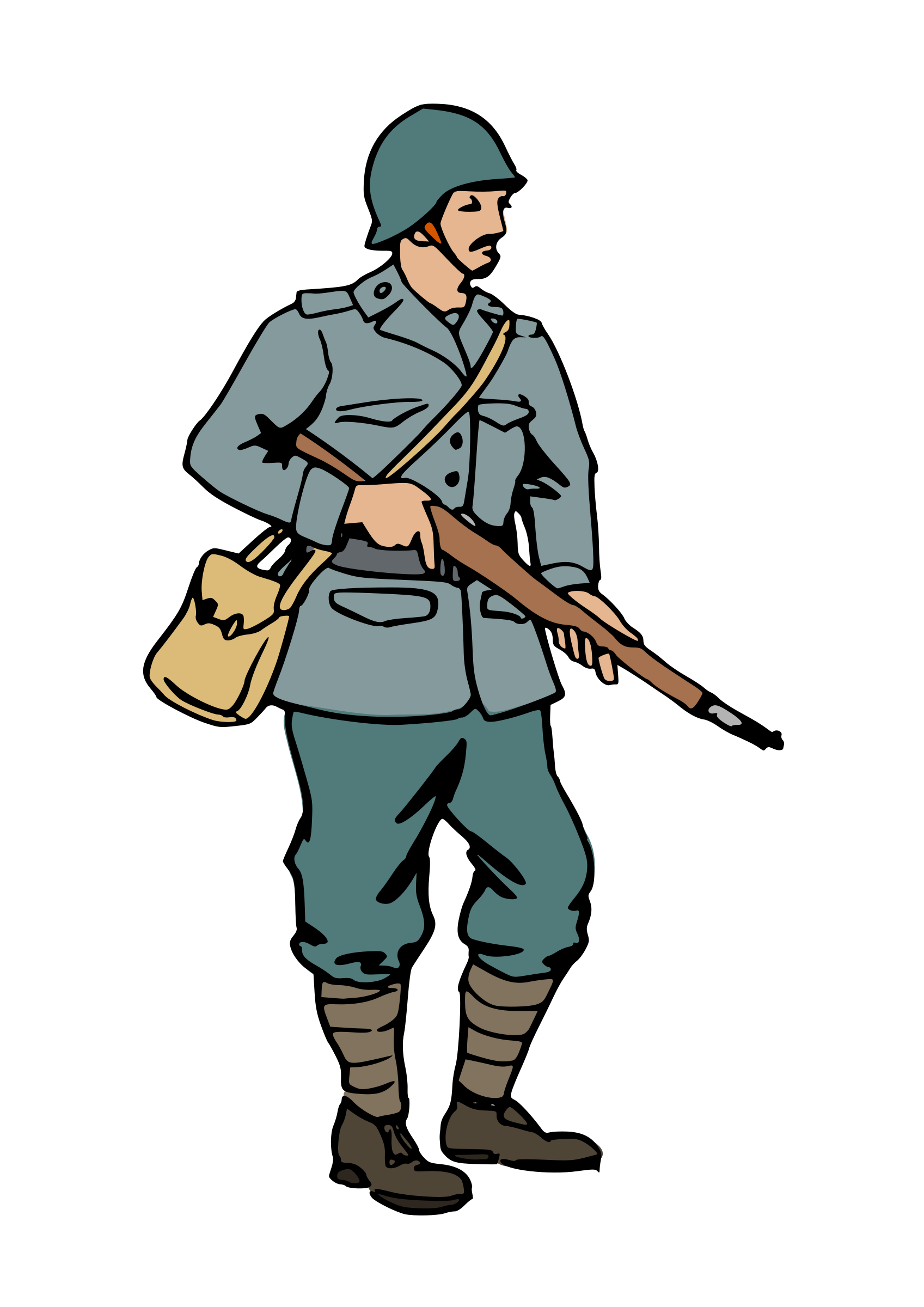 Italian soldier of WW2 by benj