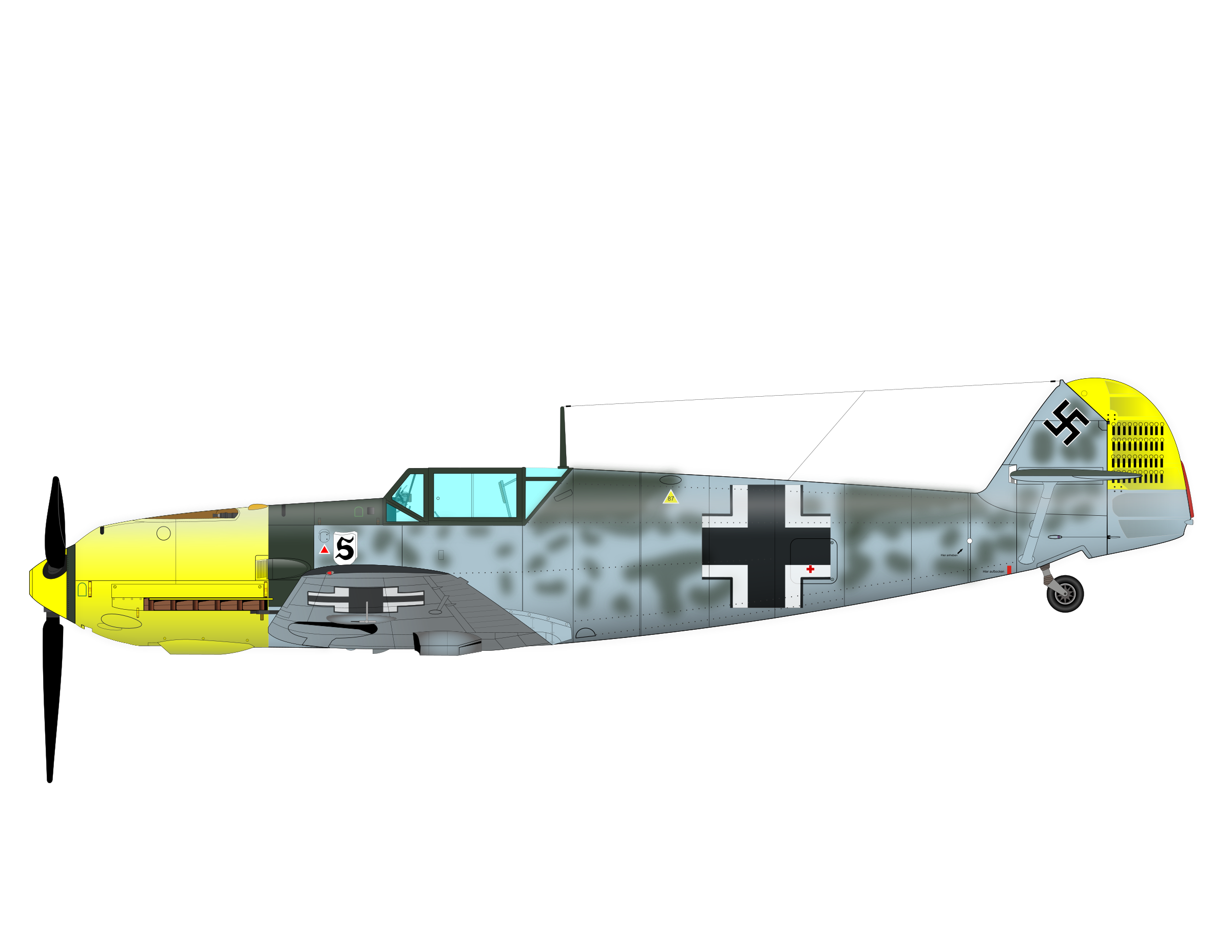 ME-109 by charner1963