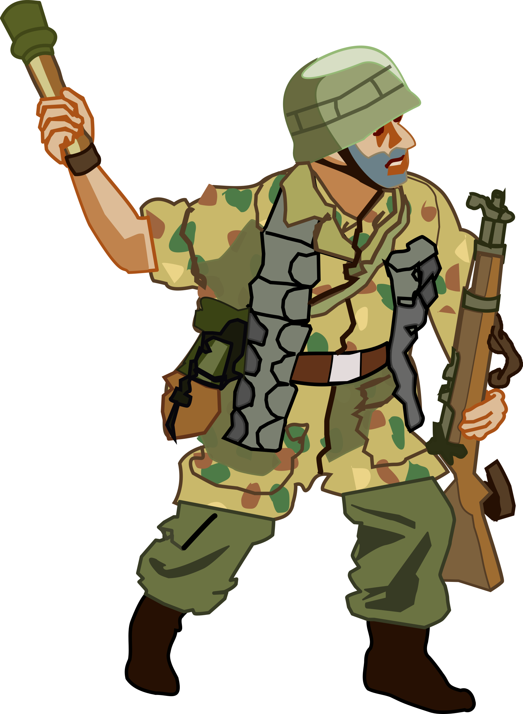 German Fallschirmjager of WW2 by benj