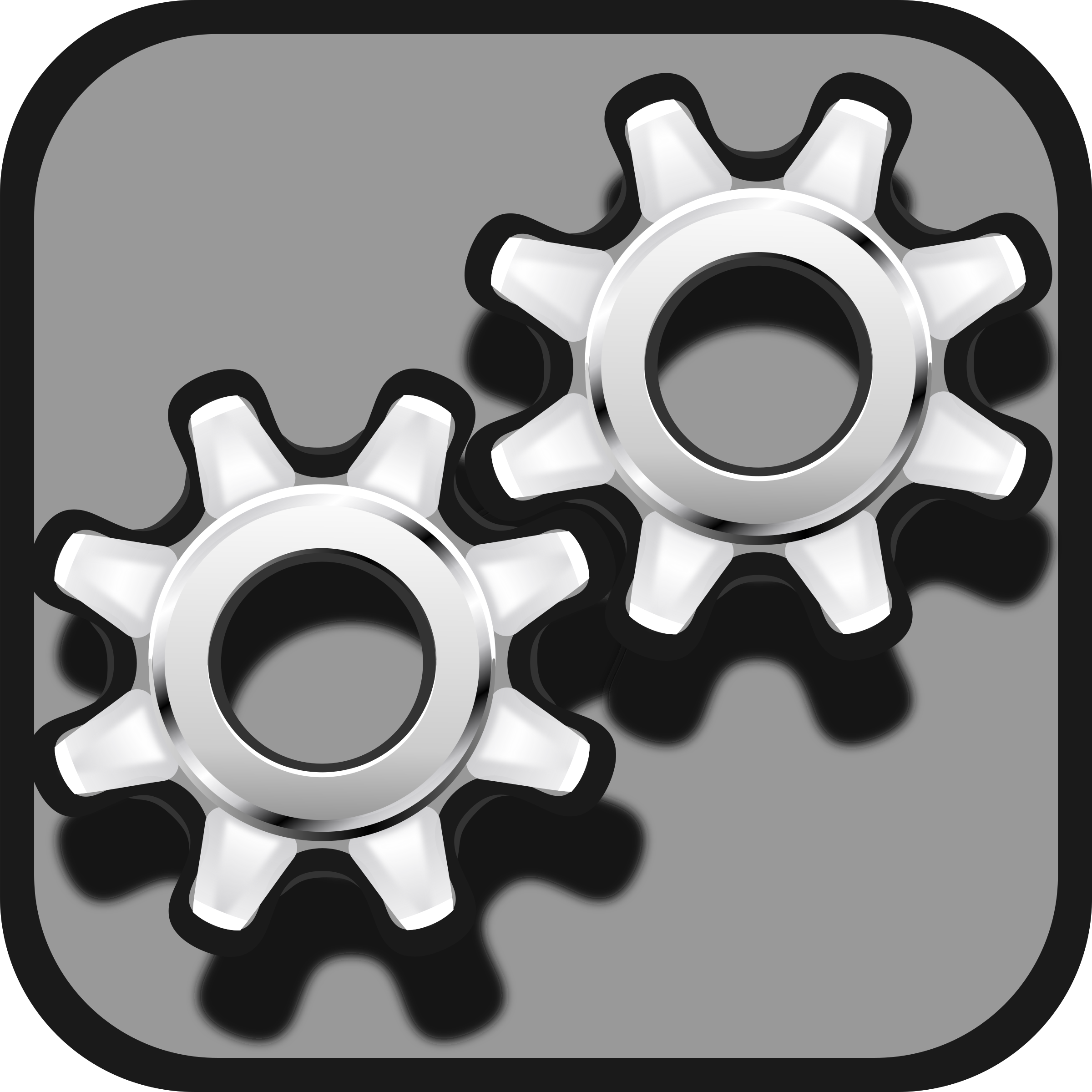 Gear icon by Keistutis