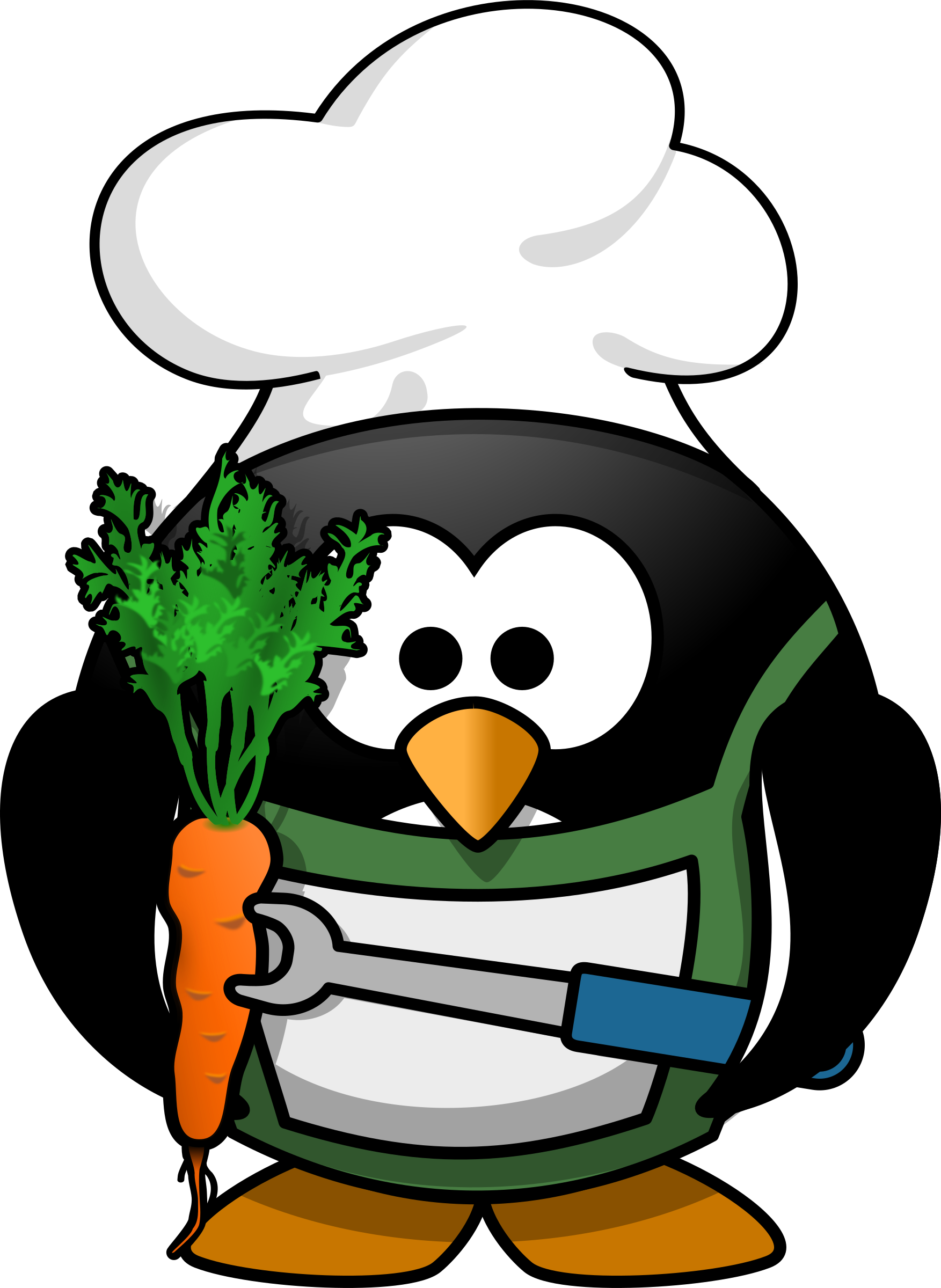 Veggie-Penguin by Moini