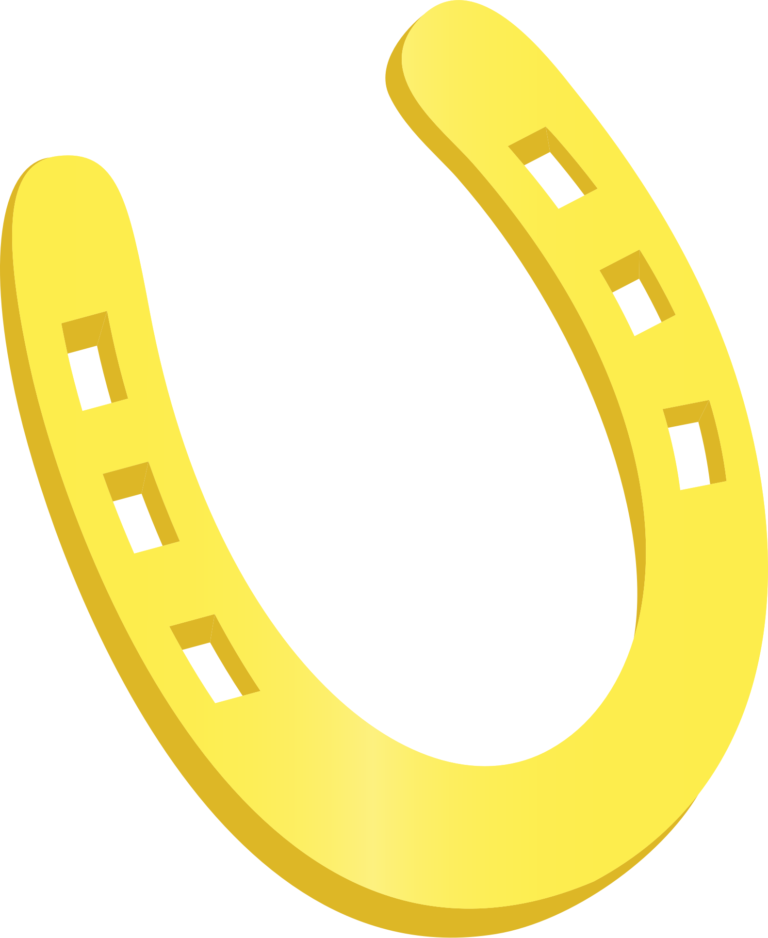 clipart horseshoe Horseshoe Silhouette Clip Art horseshoe clip art images free