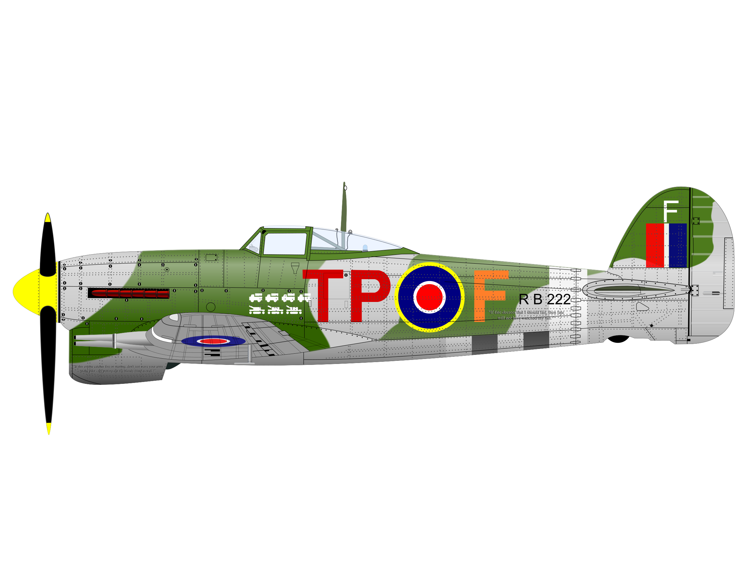 HAWKER TYPHOON by charner1963