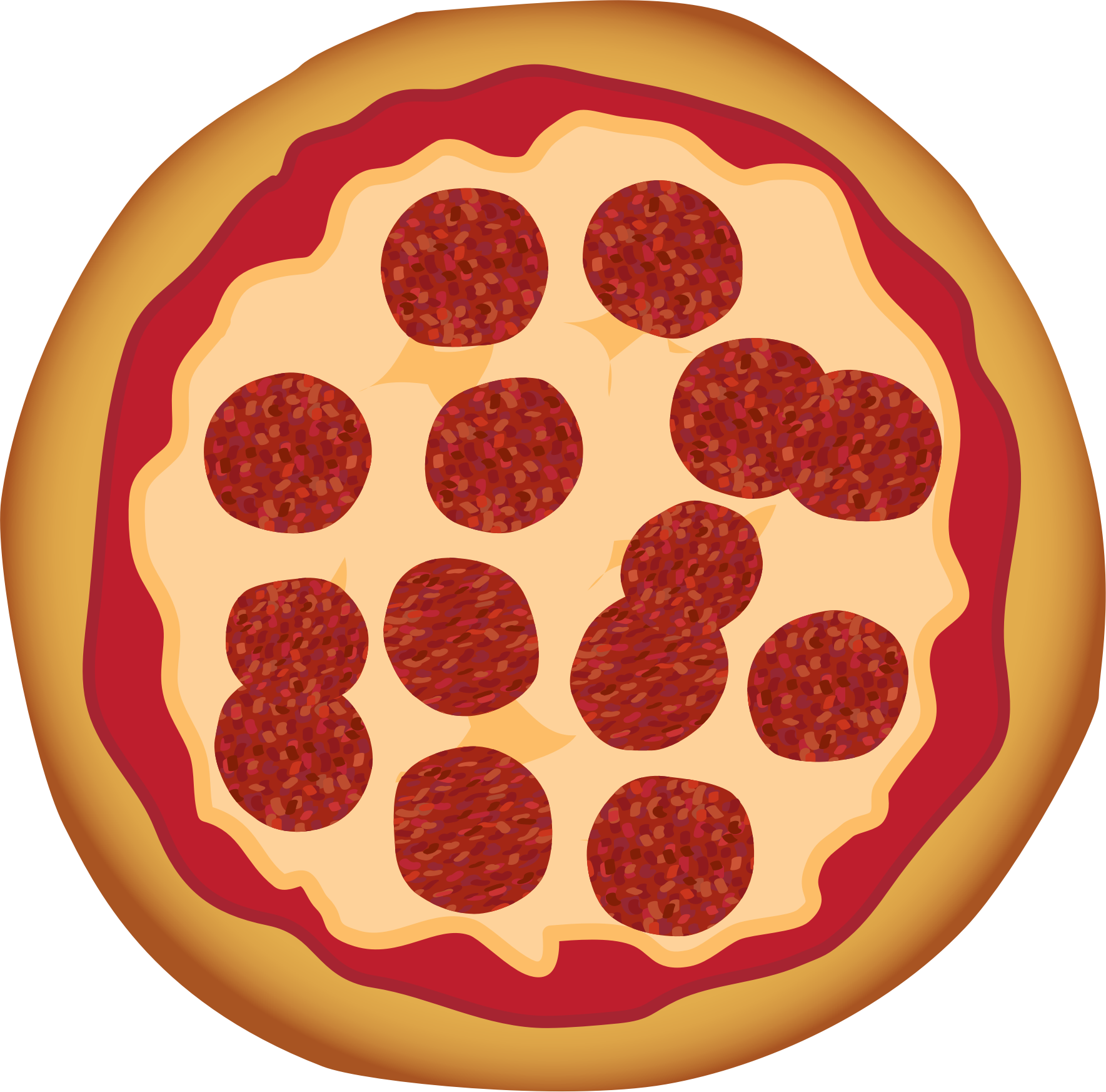 Pepperoni Pizza by toons4biz