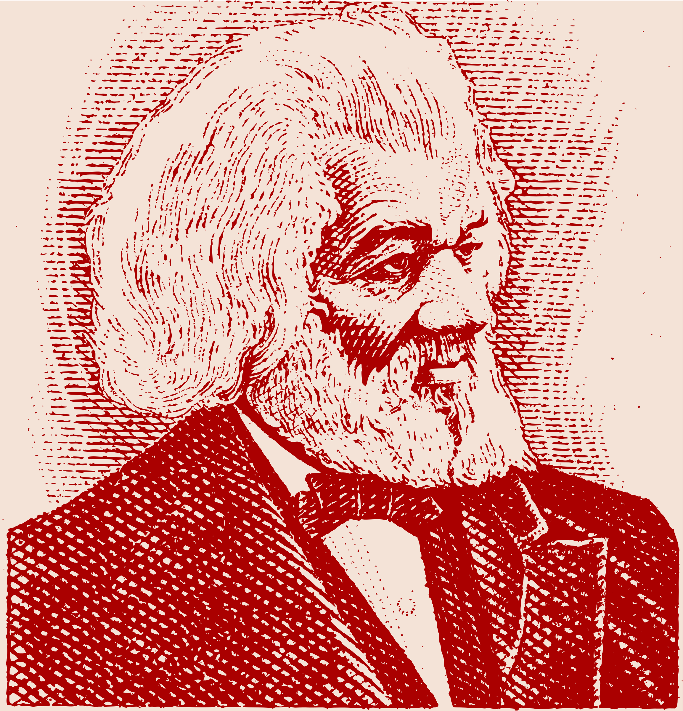 Frederick Douglass by j4p4n
