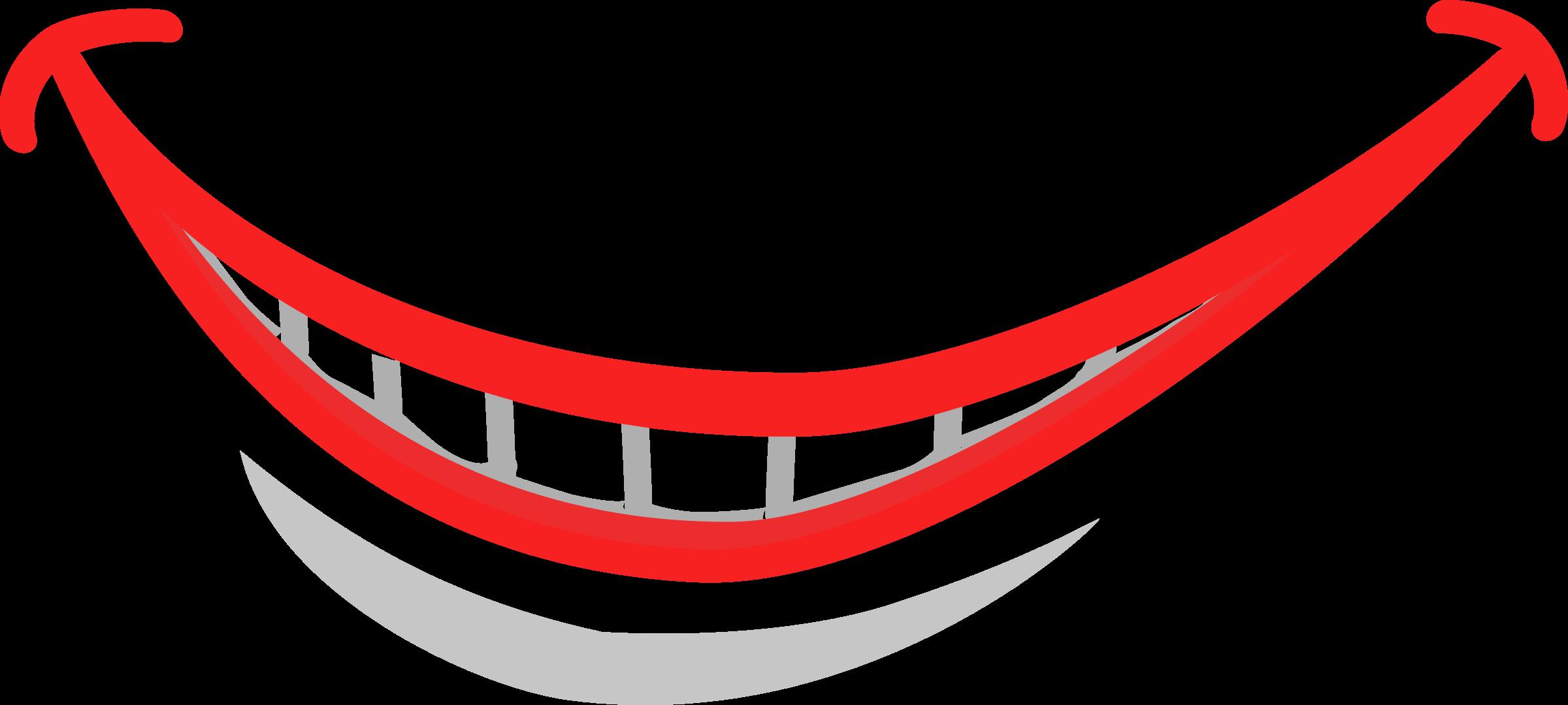 Cartoon Smile Mouth Smile