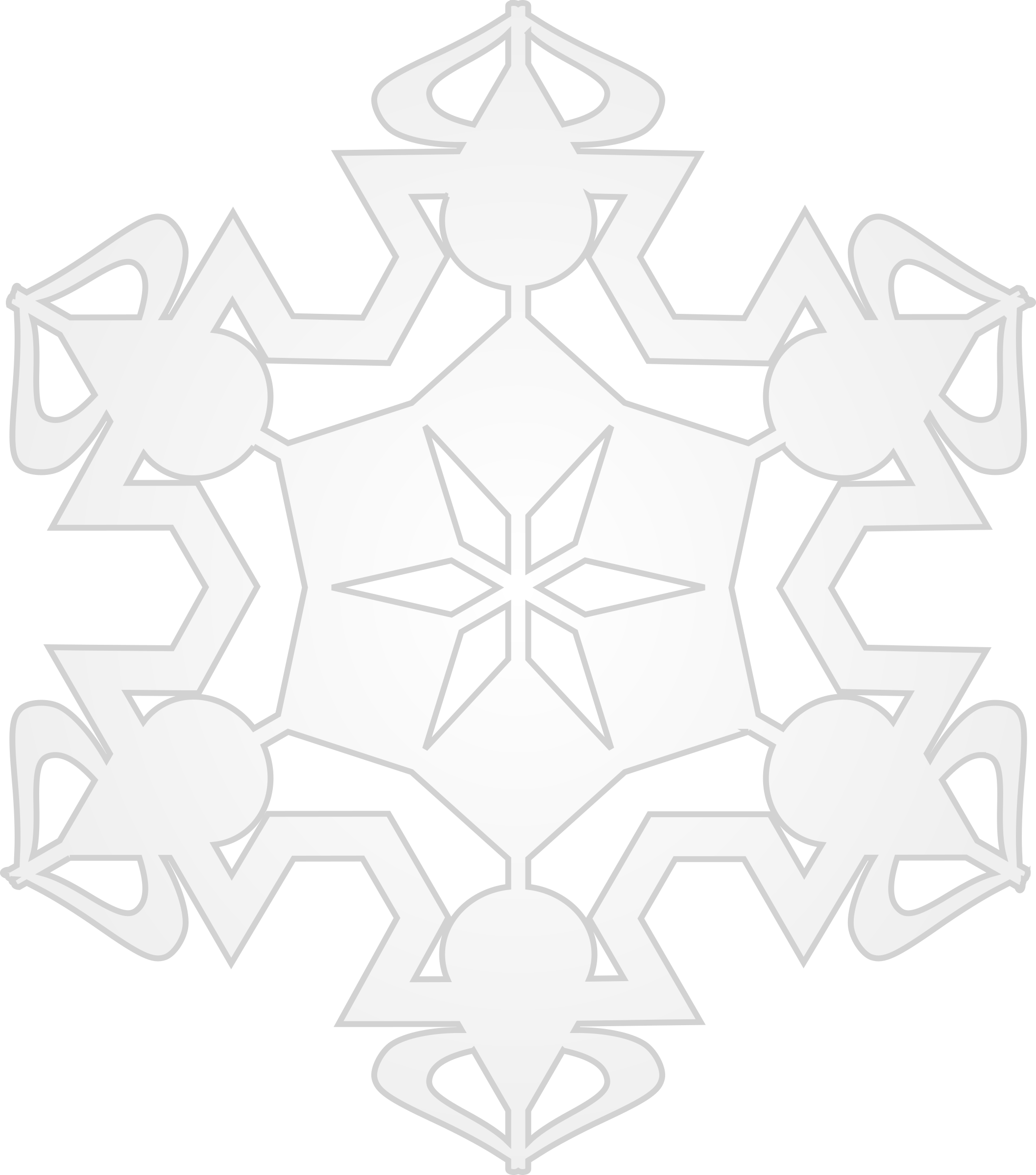 Snowflake 6 by Arvin61r58