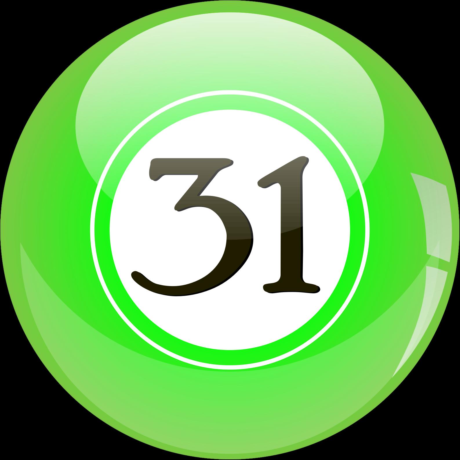 Clipart 31 Lotto Ball