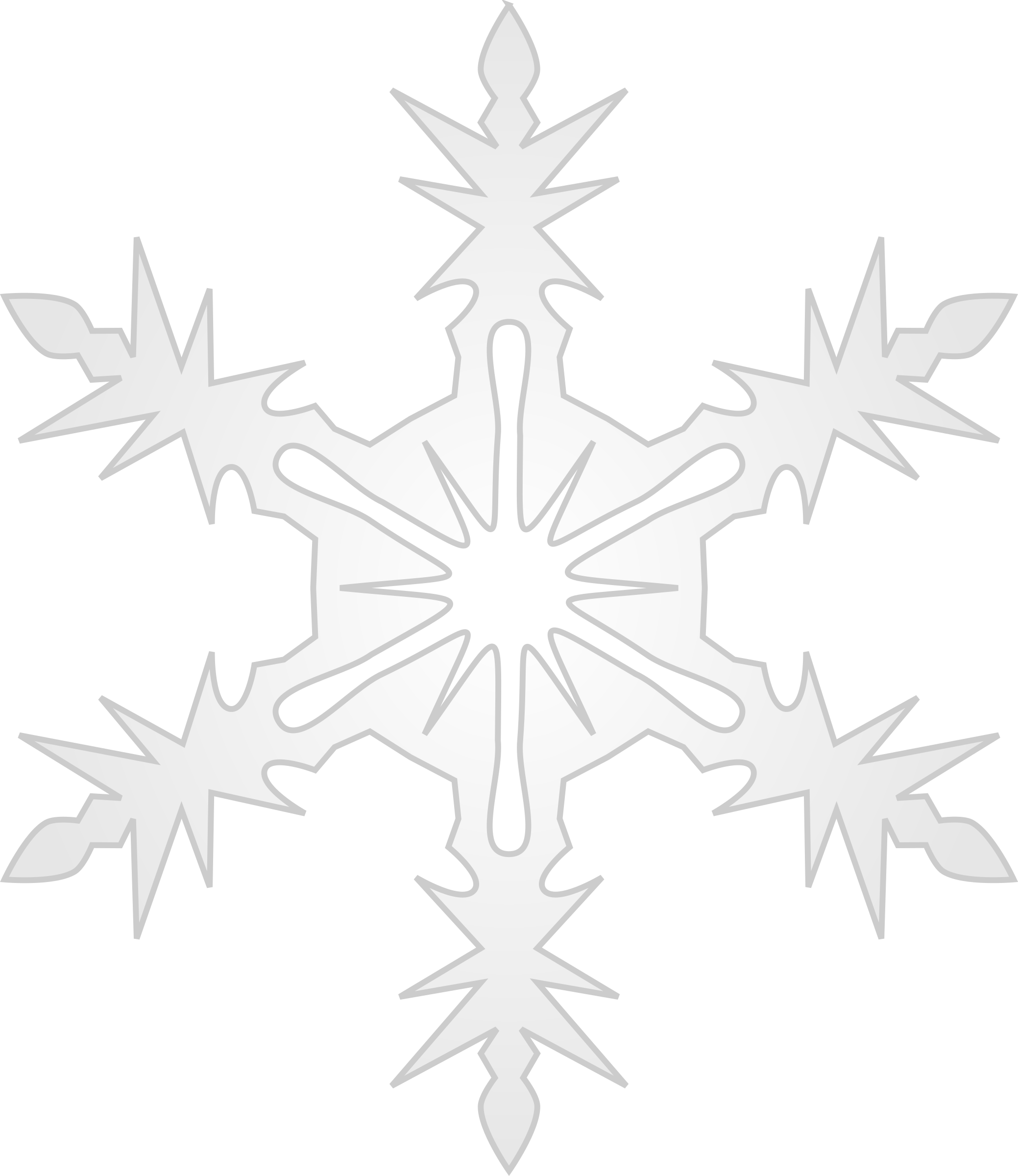 Snowflake 9 by Arvin61r58