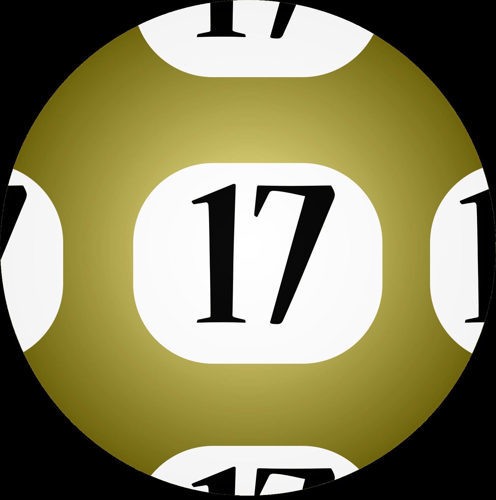 Clipart 17 Lotto Ball