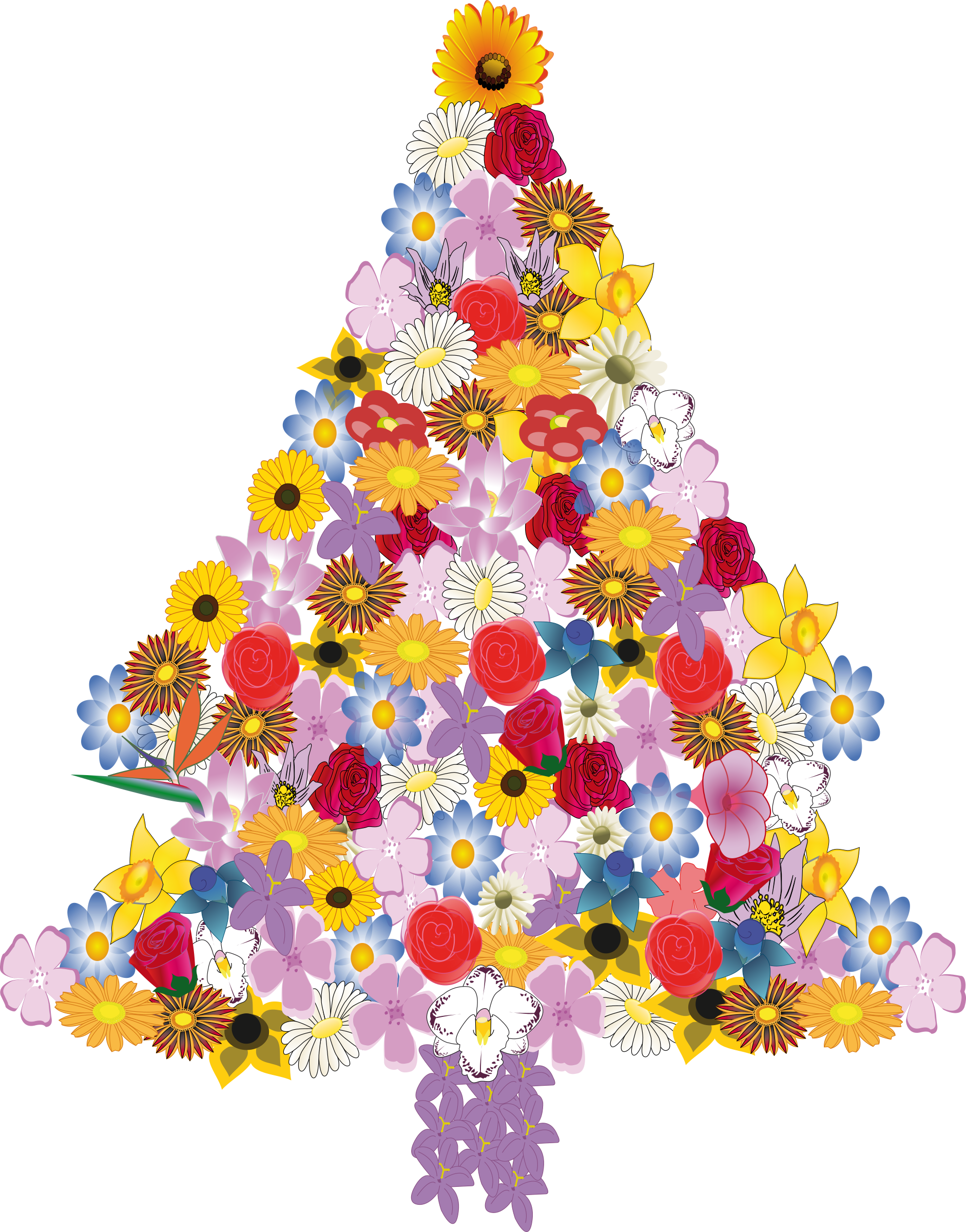 Christmas tree in bloom by presquesage