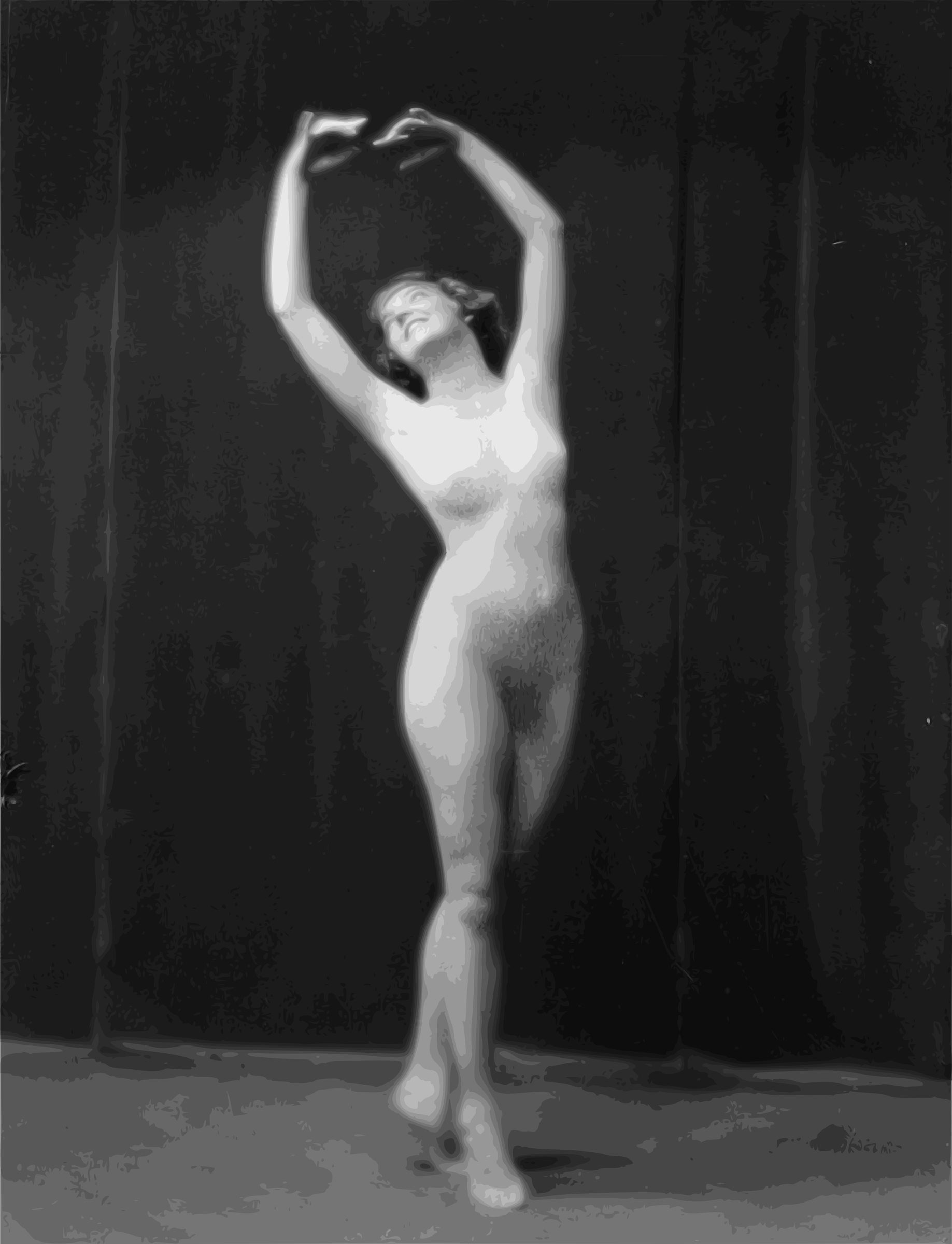 Nude Dancer Lady - 1917 by j4p4n