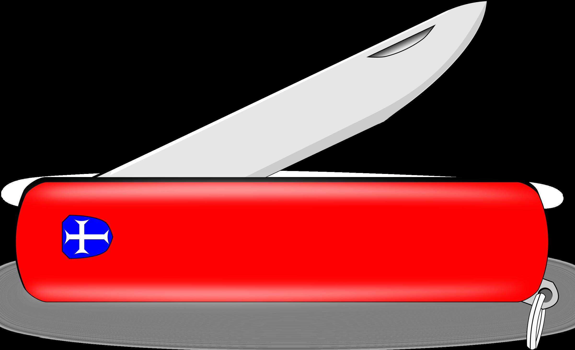 Clipart Pocket Knife
