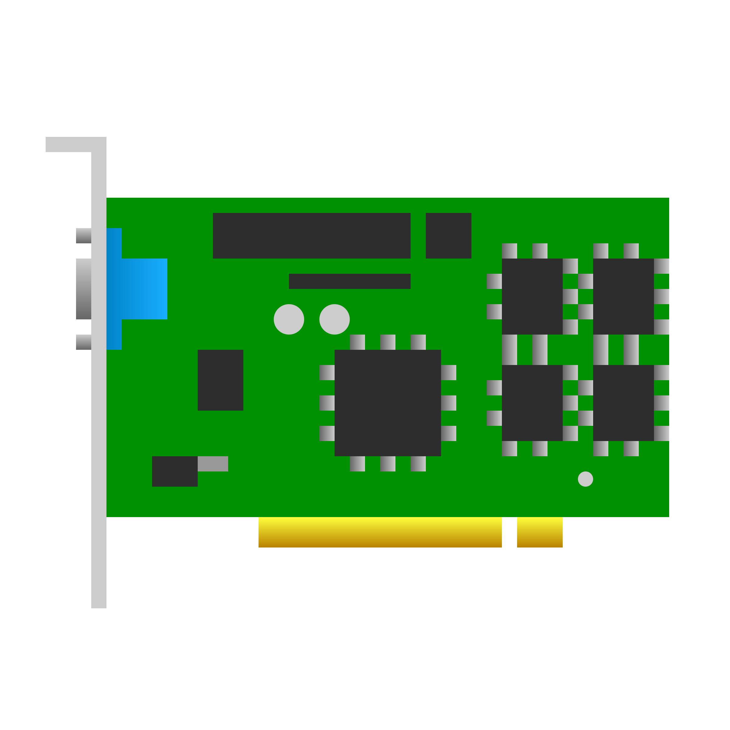 PCI video card icon by jhnri4
