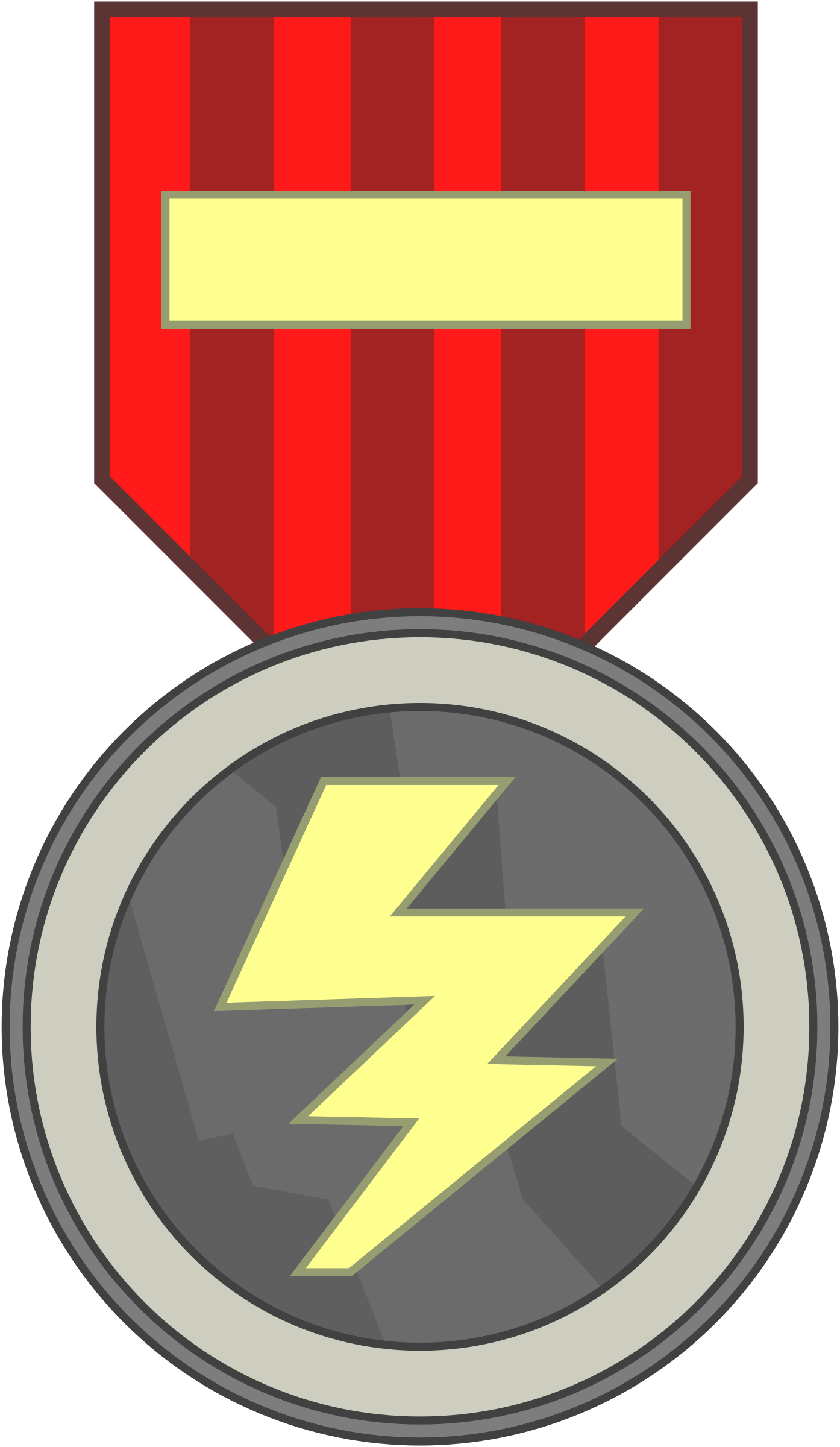 Medal Template by qubodup