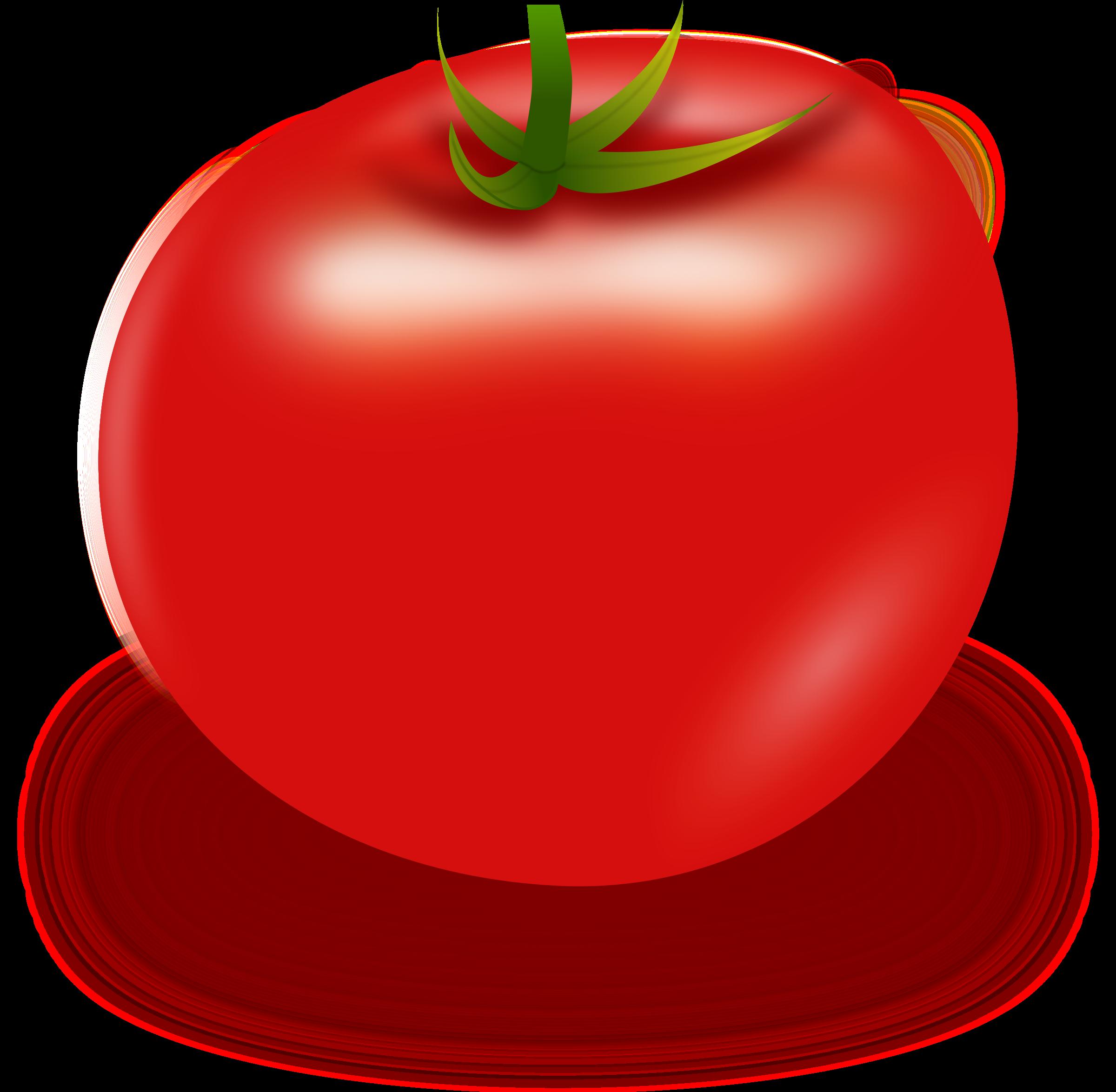 Clipart Vector Tomato