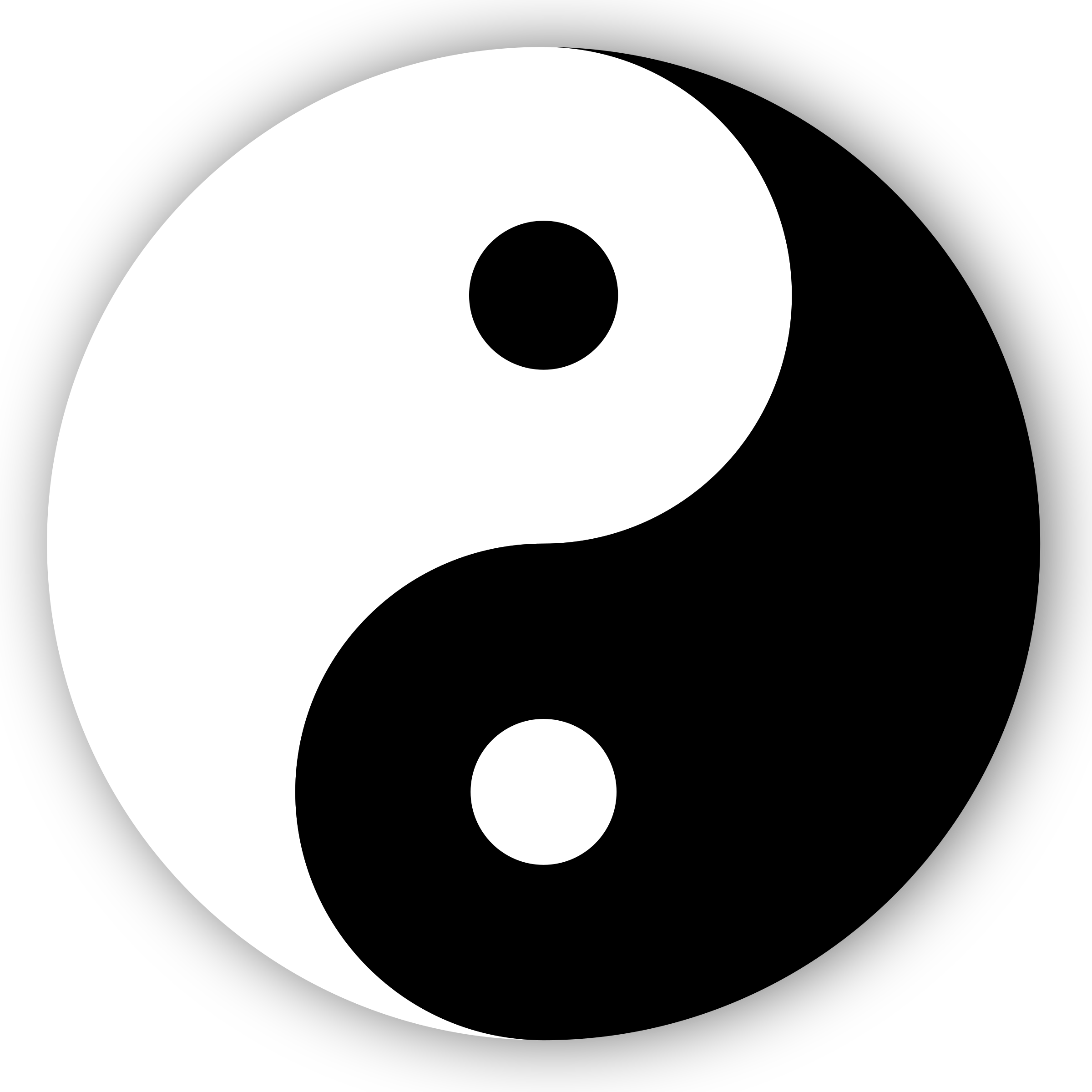 Yin Yang Symbol by cinemacookie