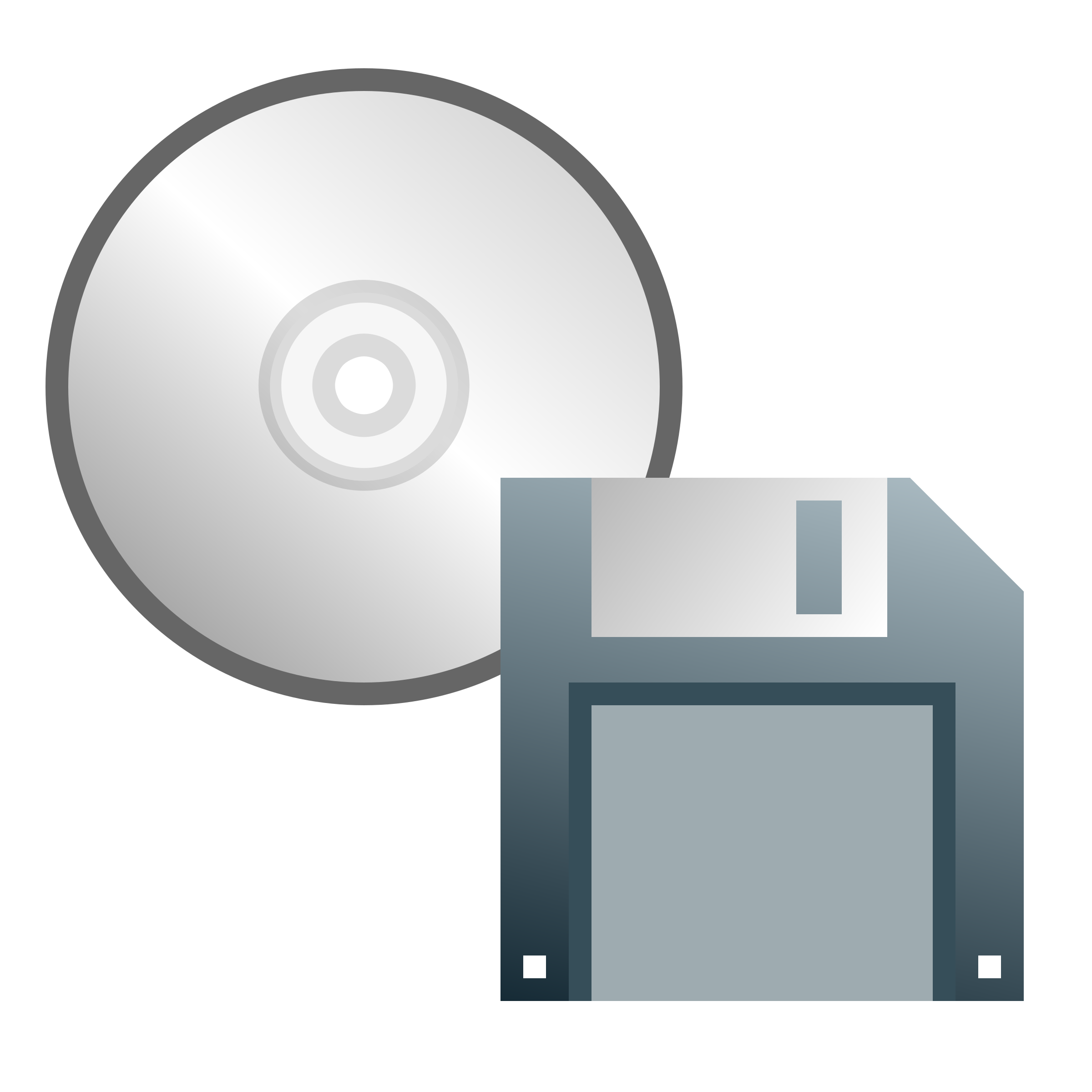 CD or floppy disk icon by jhnri4