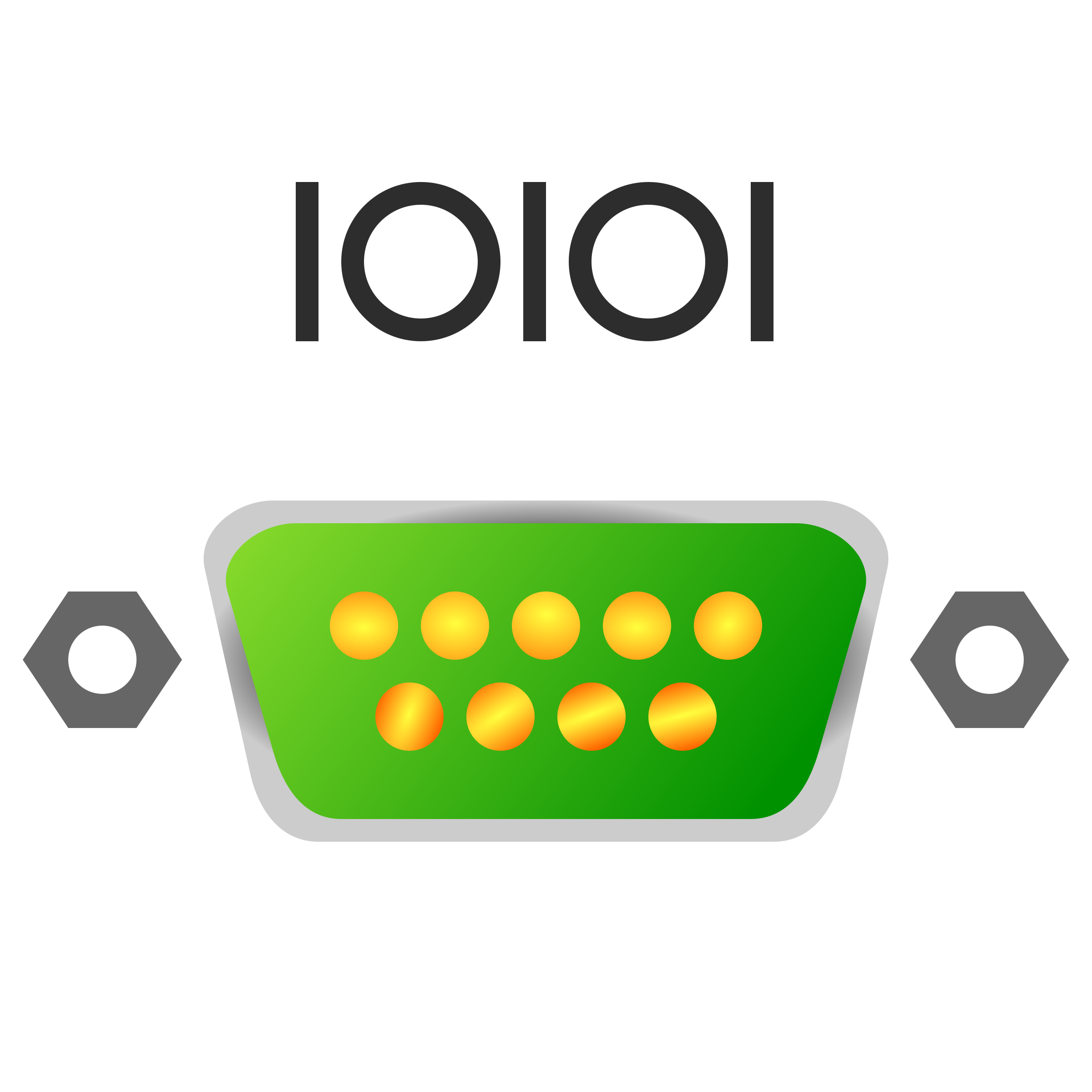 Serial port icon by jhnri4