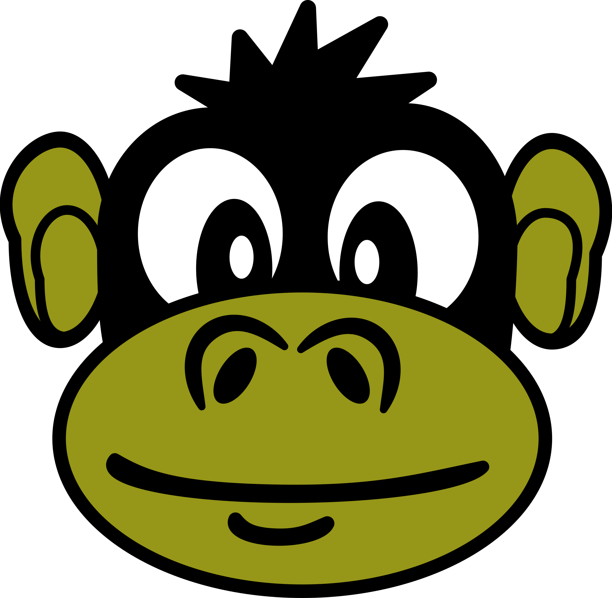 Monkey by PeterM