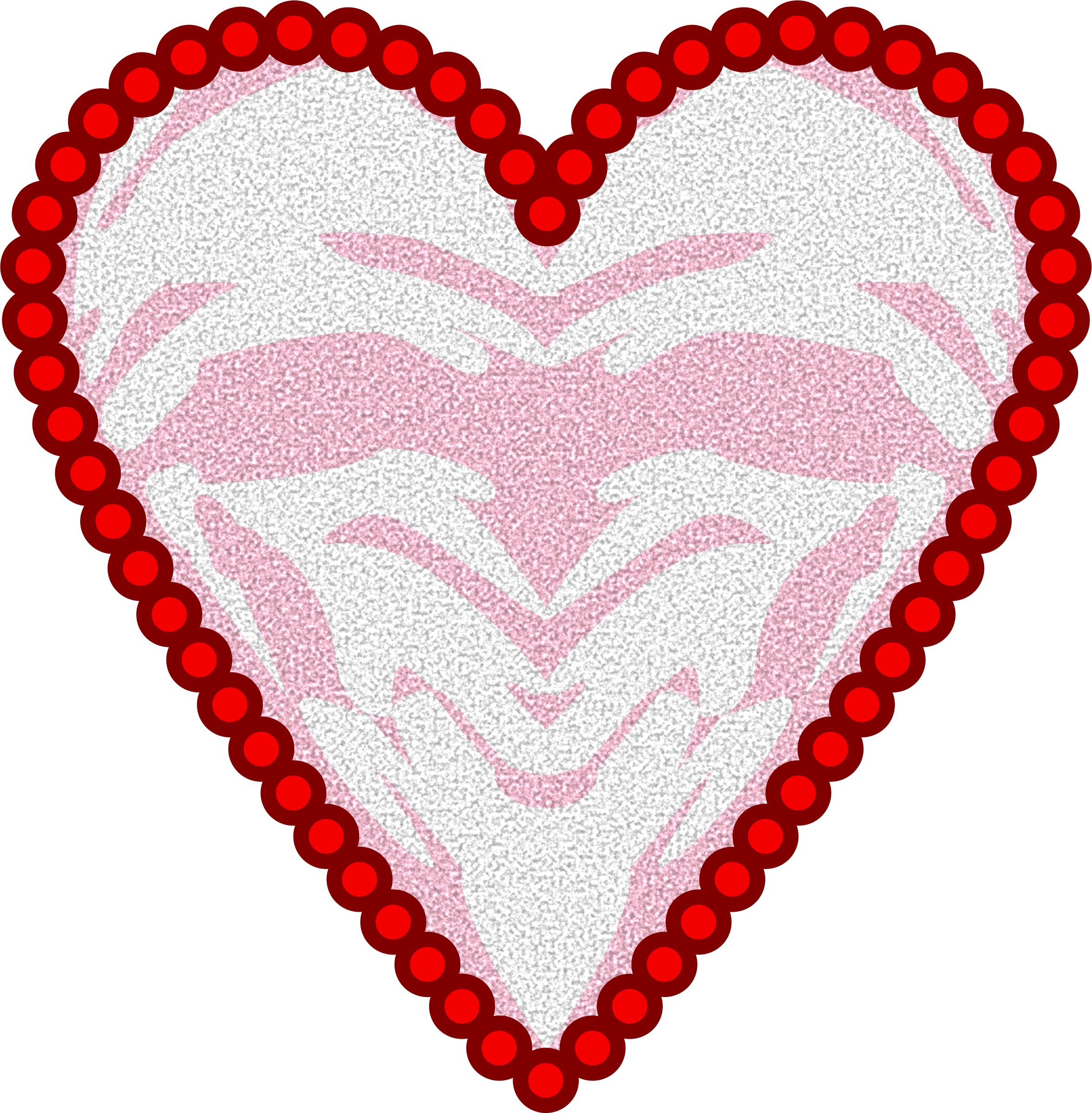 Doily Heart by Arvin61r58
