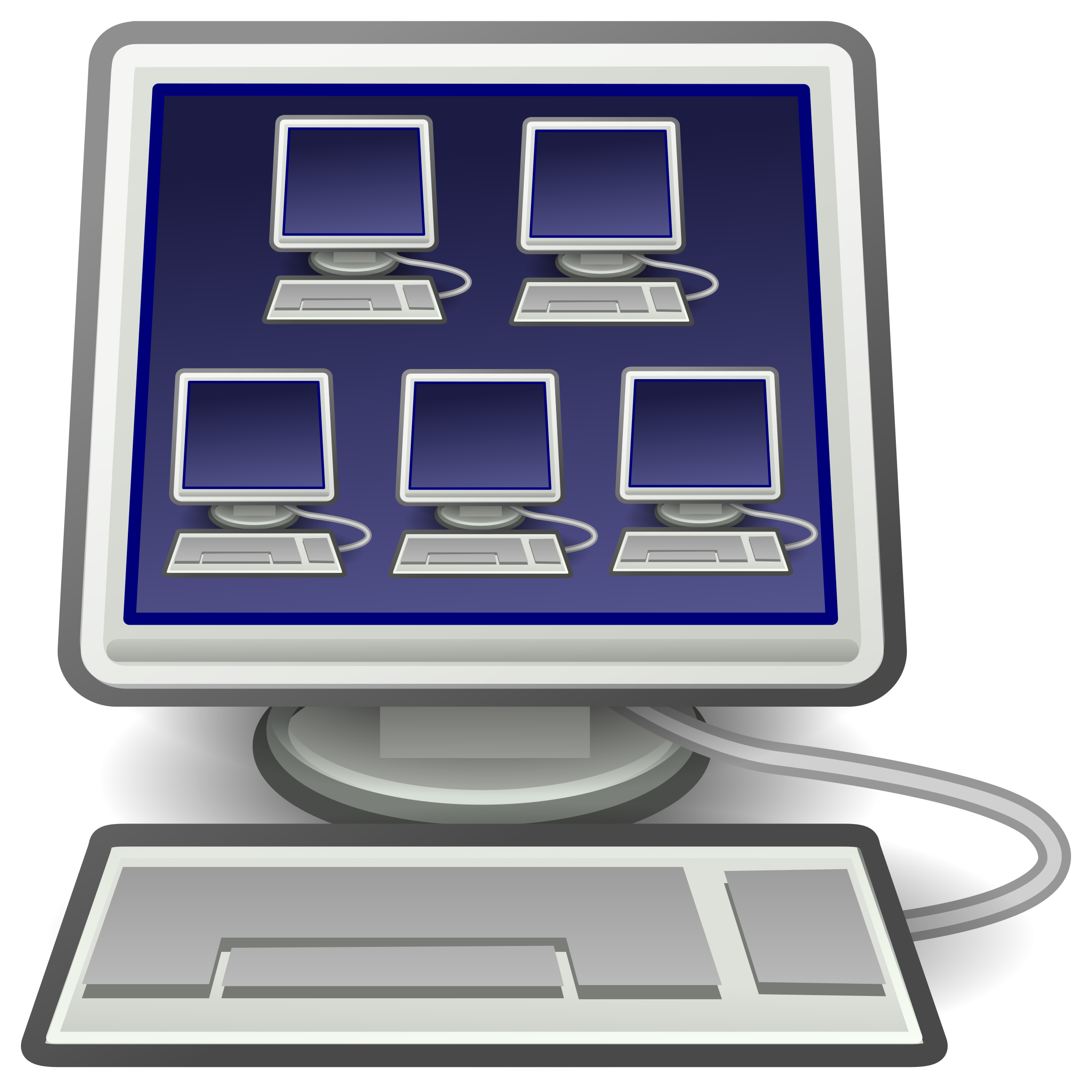 Virtualization Icon For Virtual Machines by GR8DAN