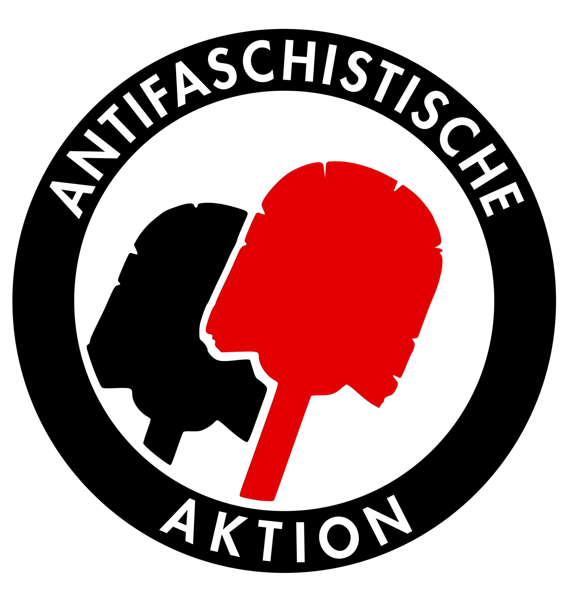 Antifa Toiletbrush by Nivatius