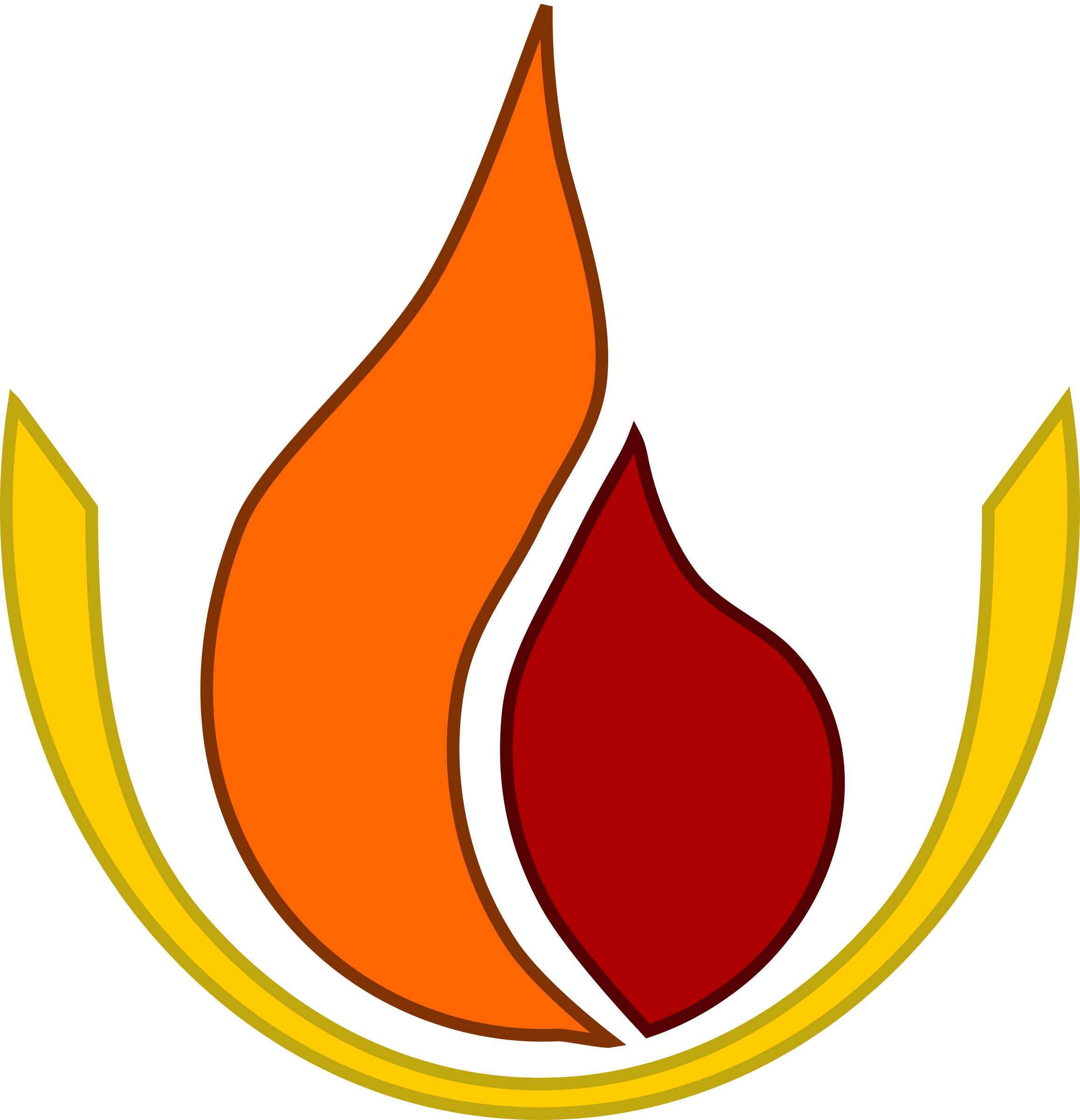 Flame logo by dear_theophilus