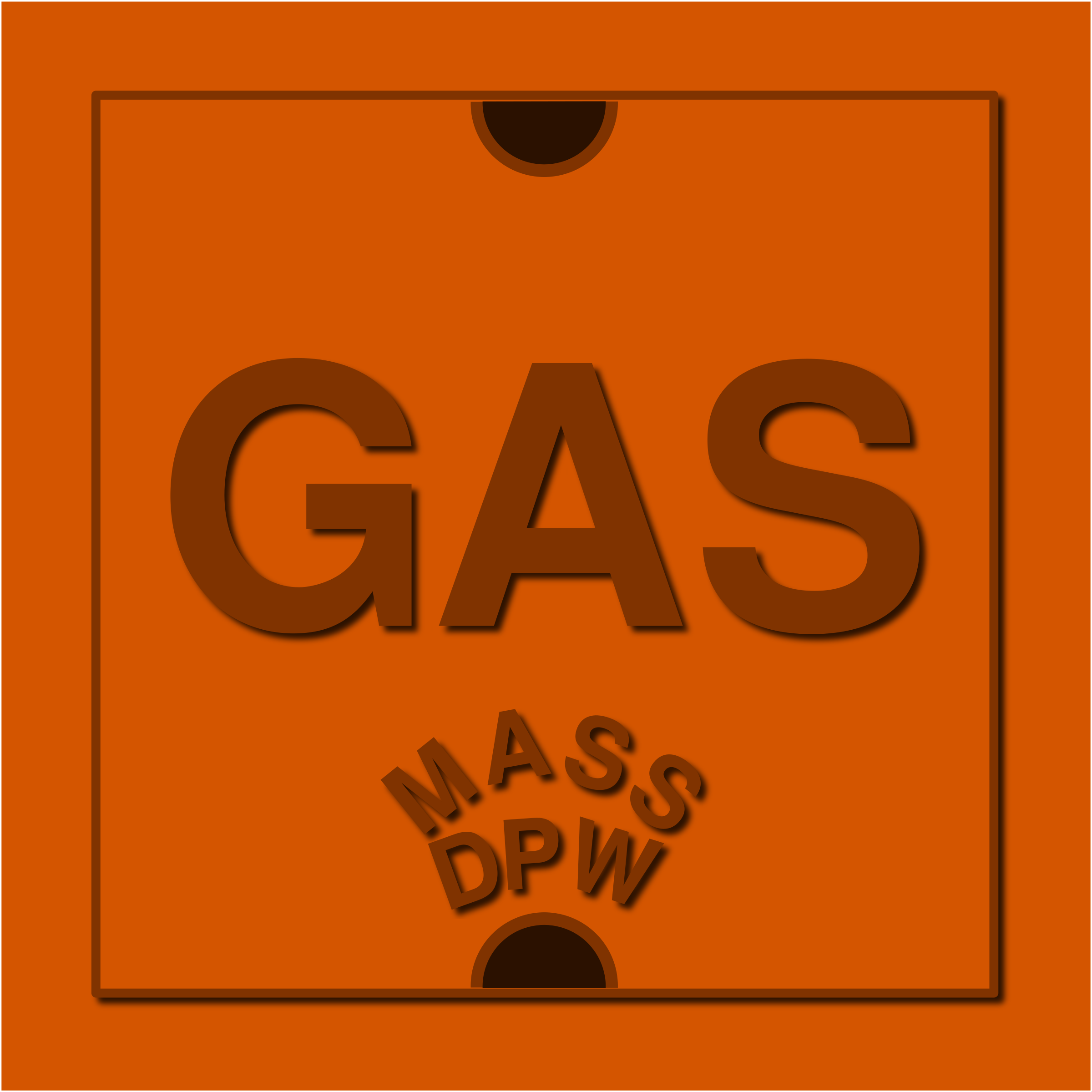 Natural Gas Utility Access Cover by algotruneman