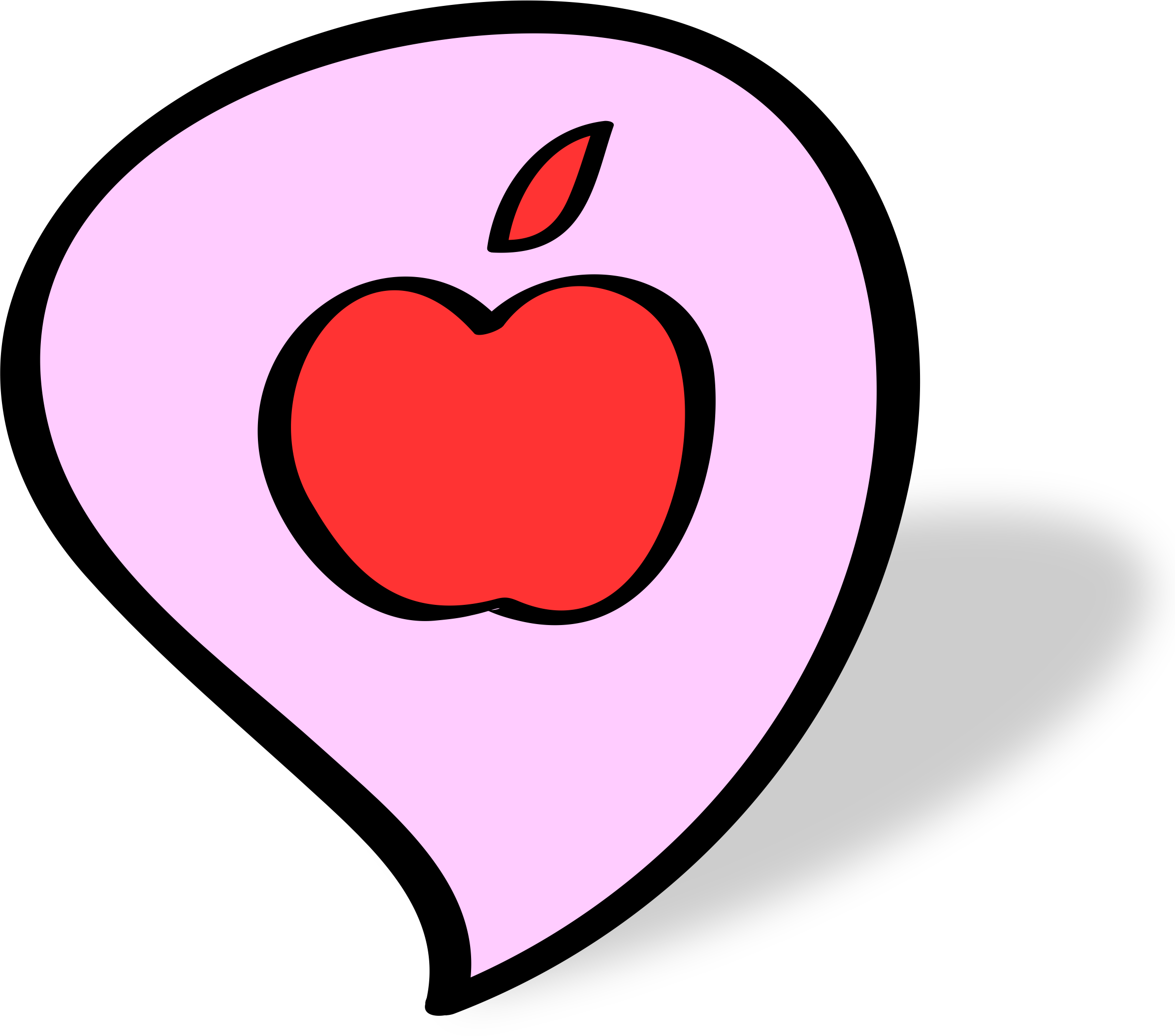 How To Talk To People >> Clipart - apple