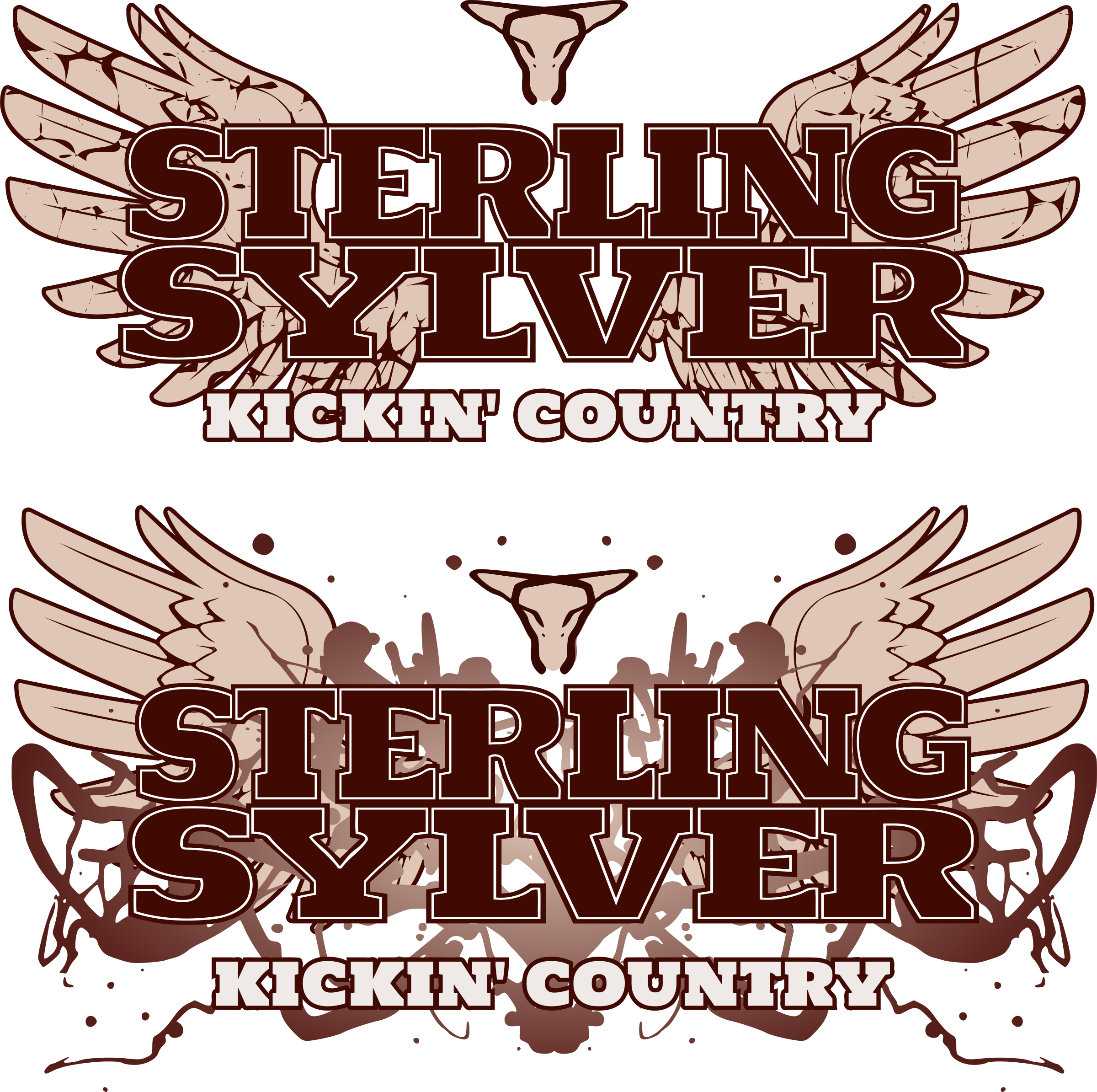 Country band logo by dear_theophilus