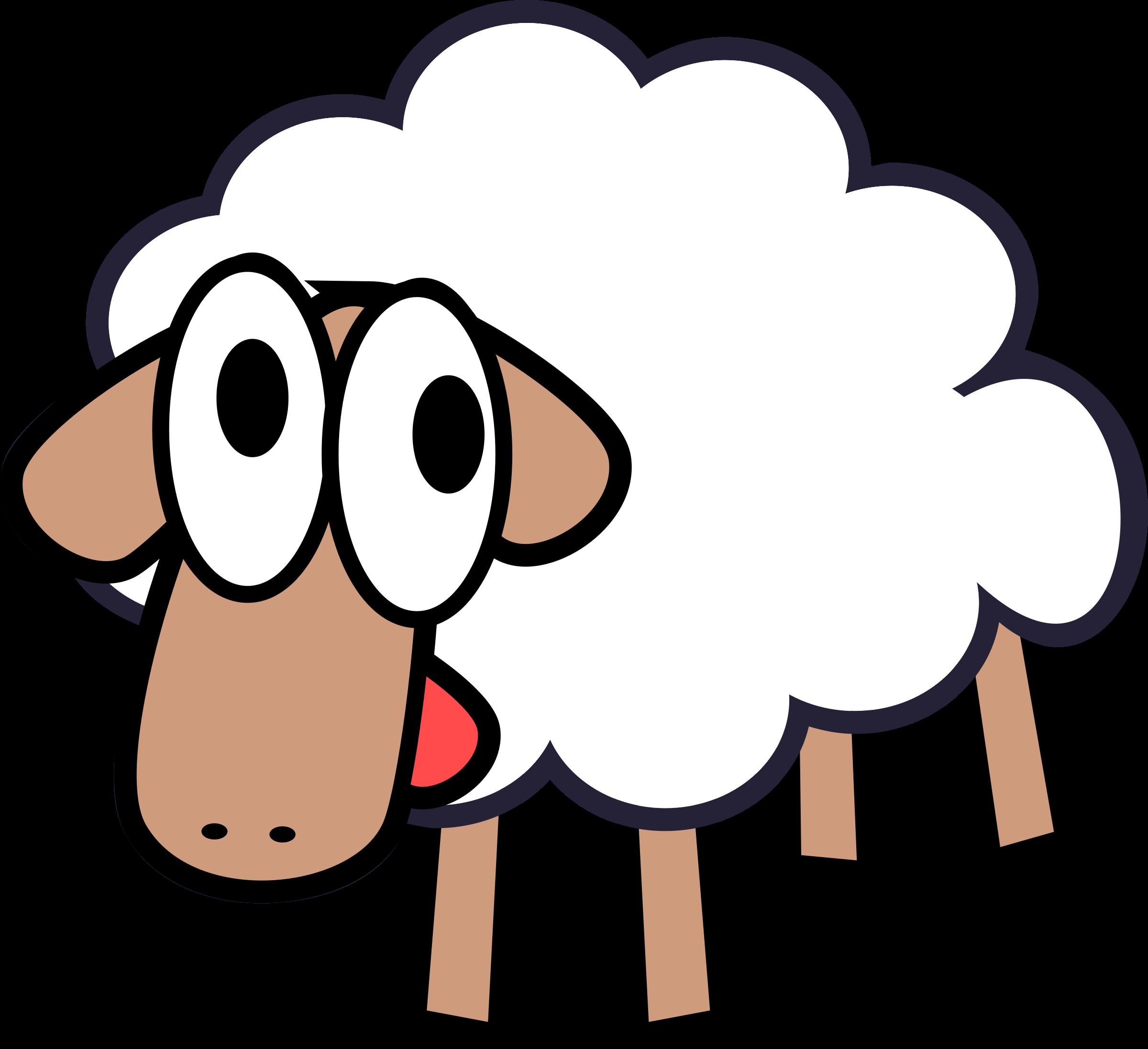 lamb clip art cartoon - photo #5