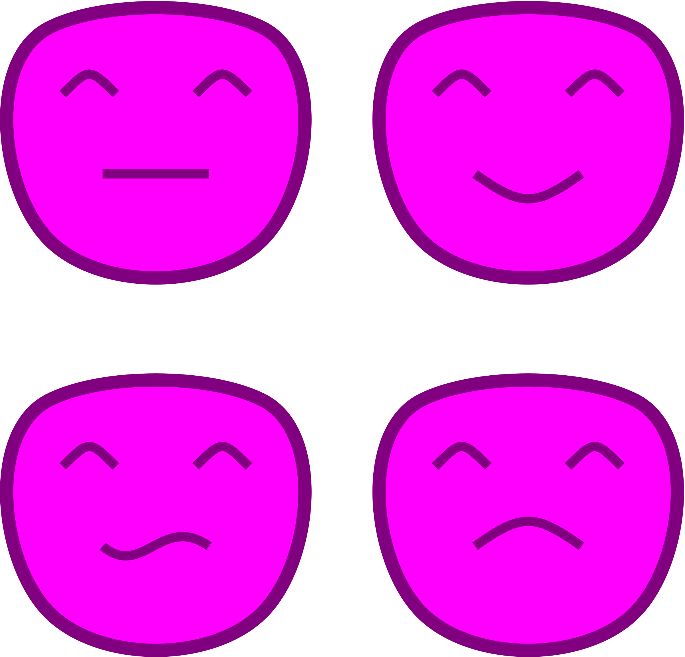 Pink Smileys by matheod