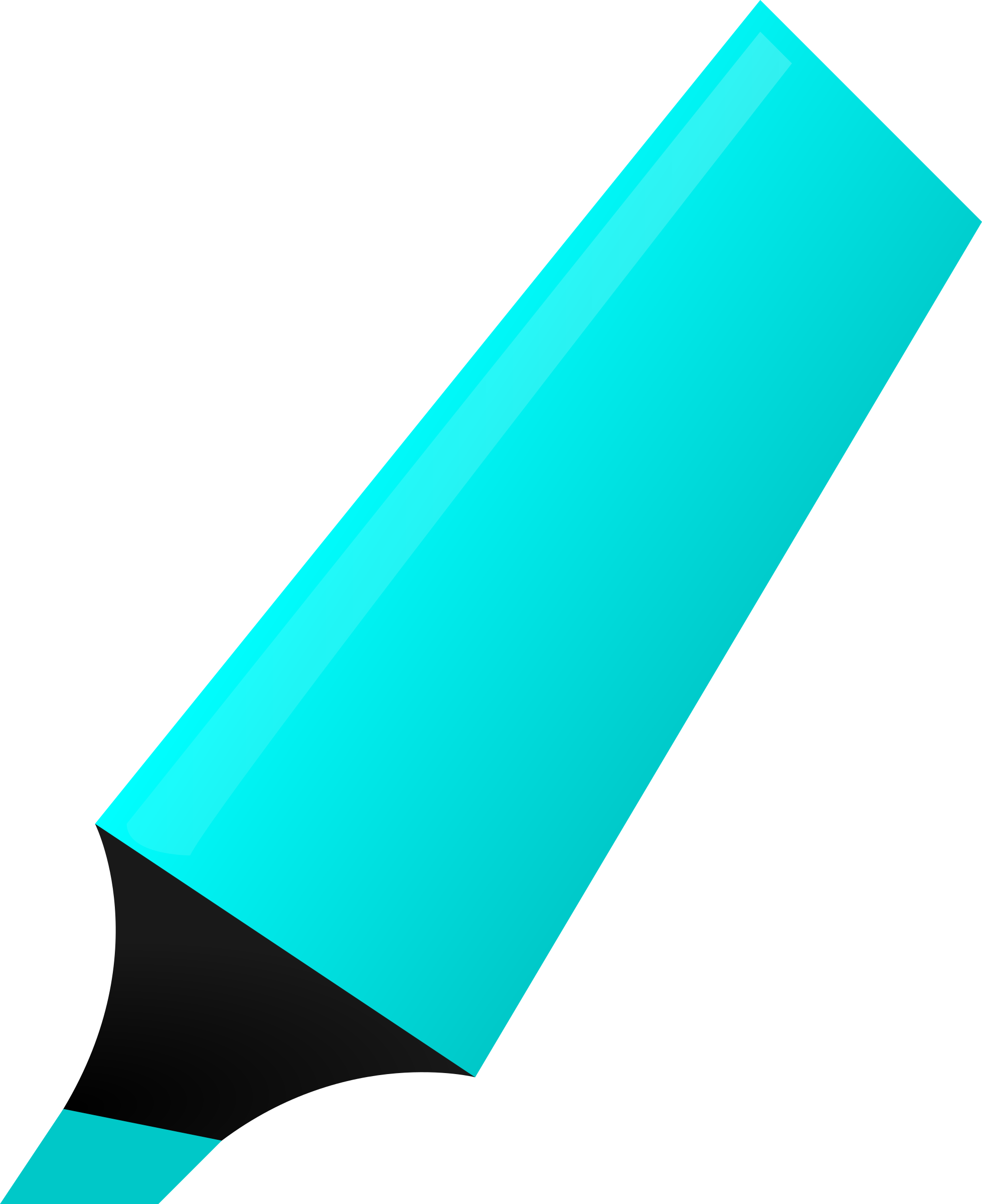 Cyan Highlighter by matheod